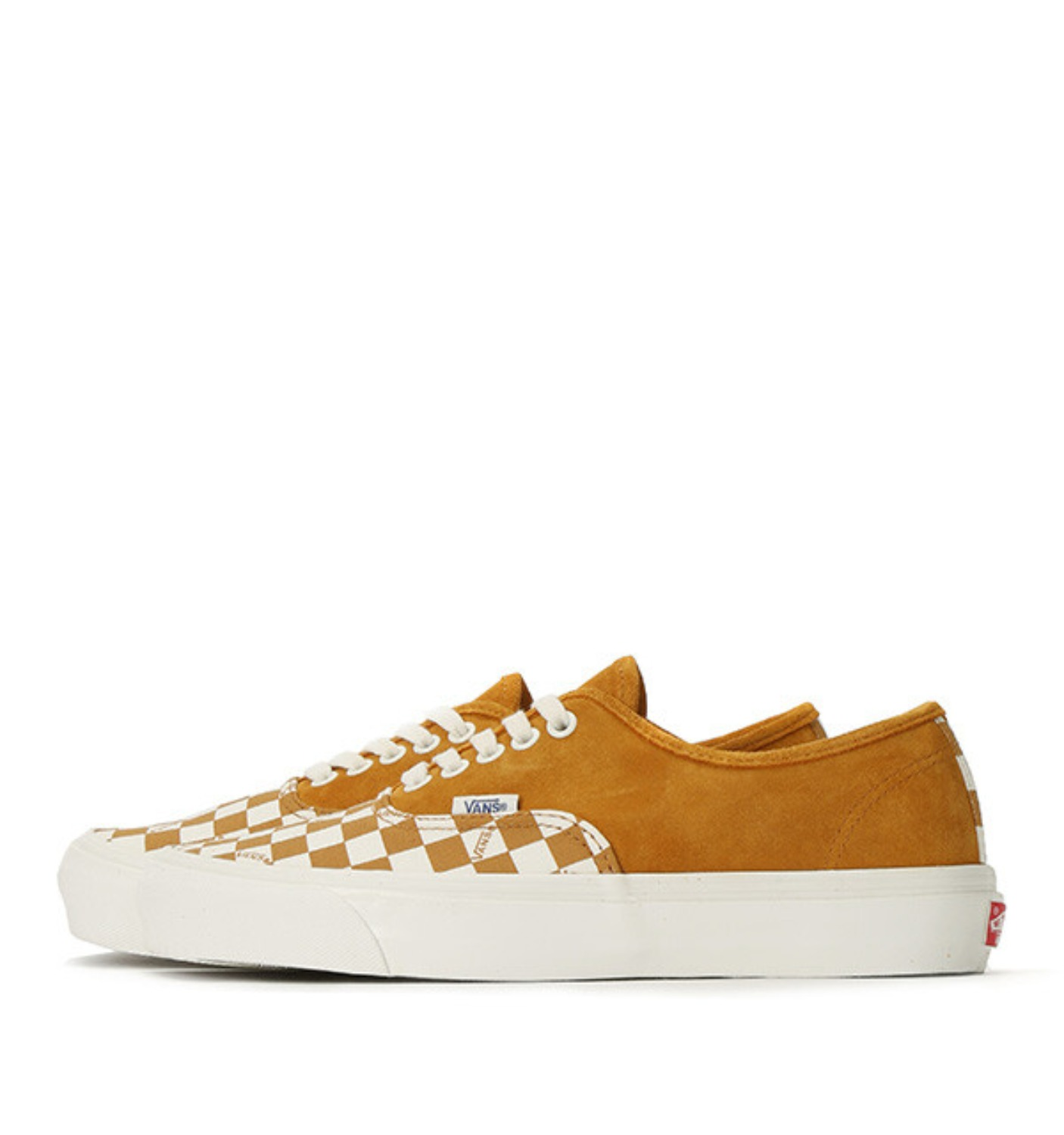 OG AUTHENTIC LX(SUEDE/CANVAS) BUCKTHORN BROWN/CHECKERBOARD