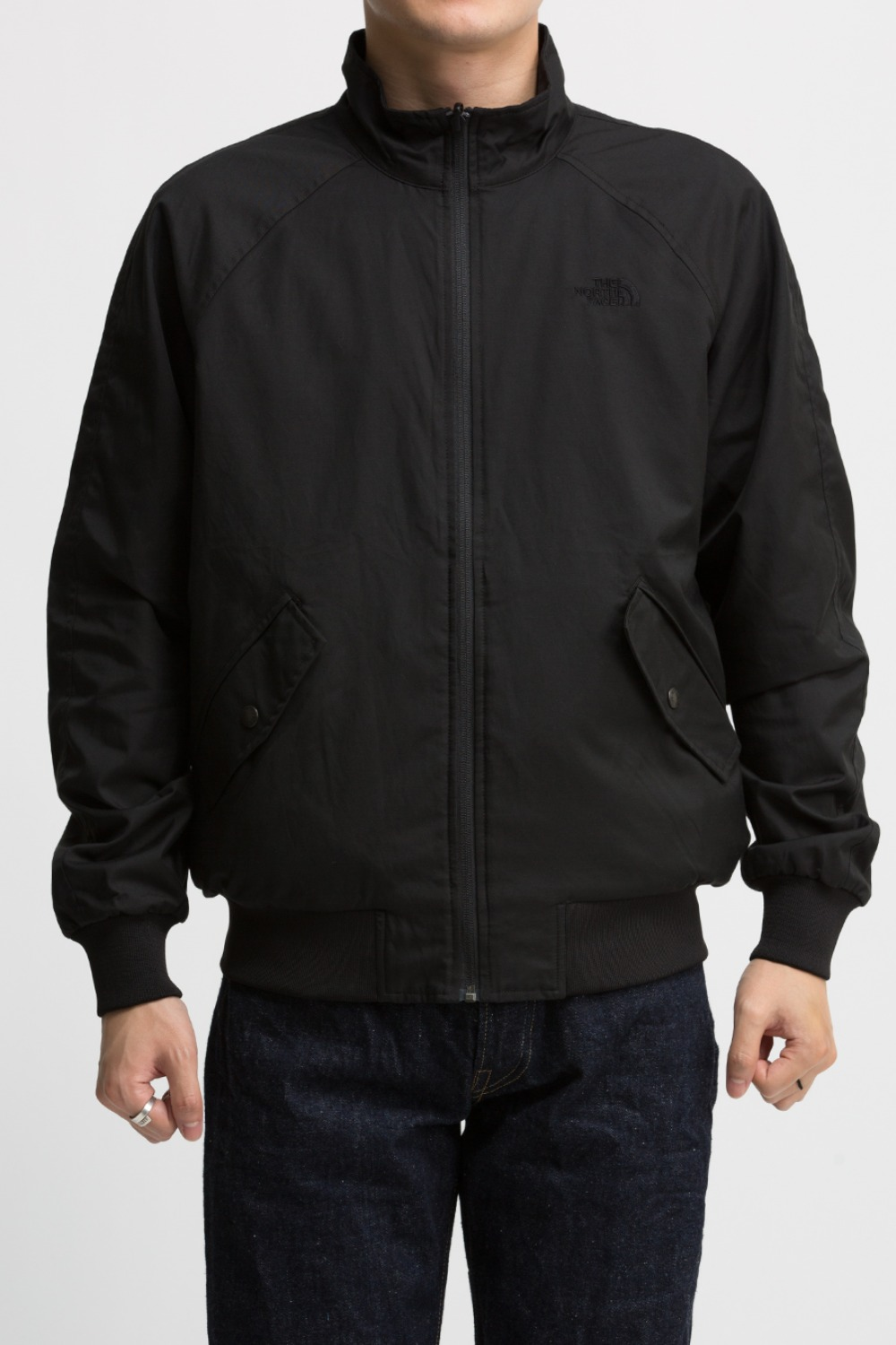 CITY CLASSIC HARRINGTON REVERSIBLE JACKET (NJ3BL56A) BKACK