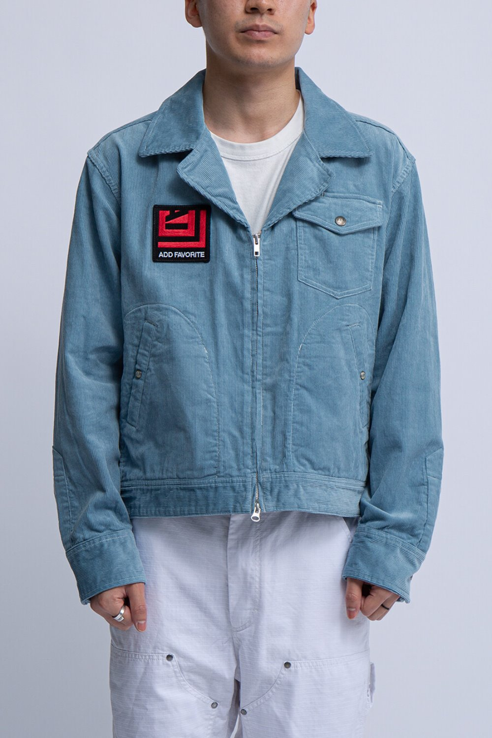 LTB JACKET LIGHT BLUE 14W CORDUROY
