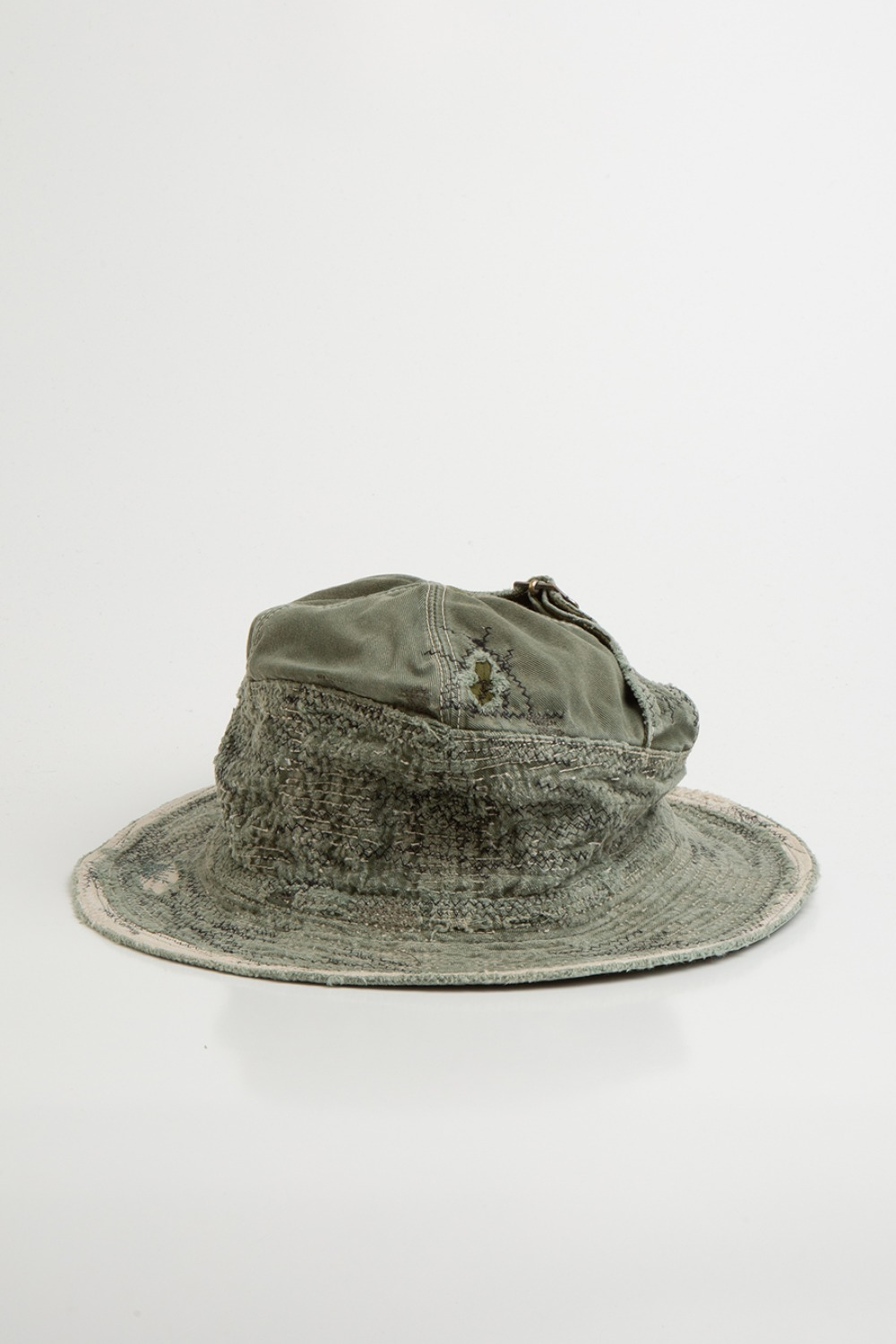 CHINO OLD MAN AND SEA HAT(CRASH REMAKE) KHAKI