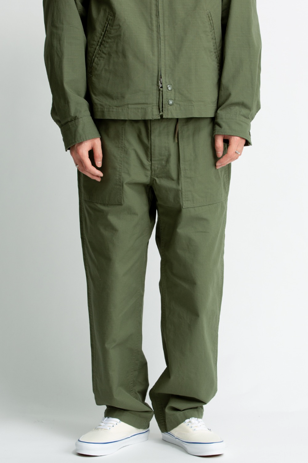FATIGUE PANT OLIVE COTTON RIPSTOP