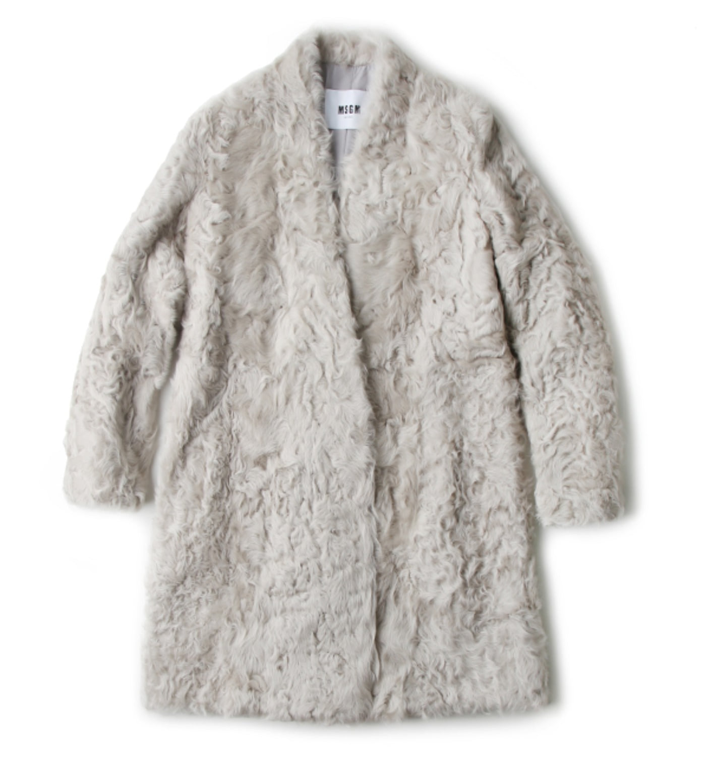 PELLICCIA FUR COAT GREY(2341MDC01-174706)