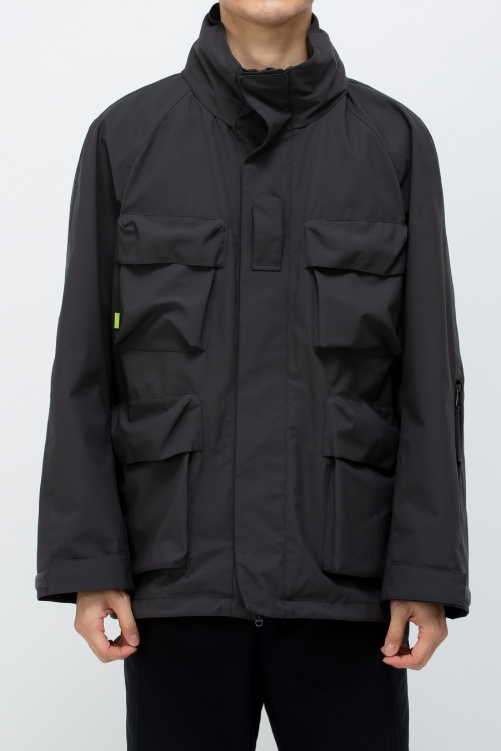 MOMENTUM MILITARY SHELL PARKA CHARCOAL