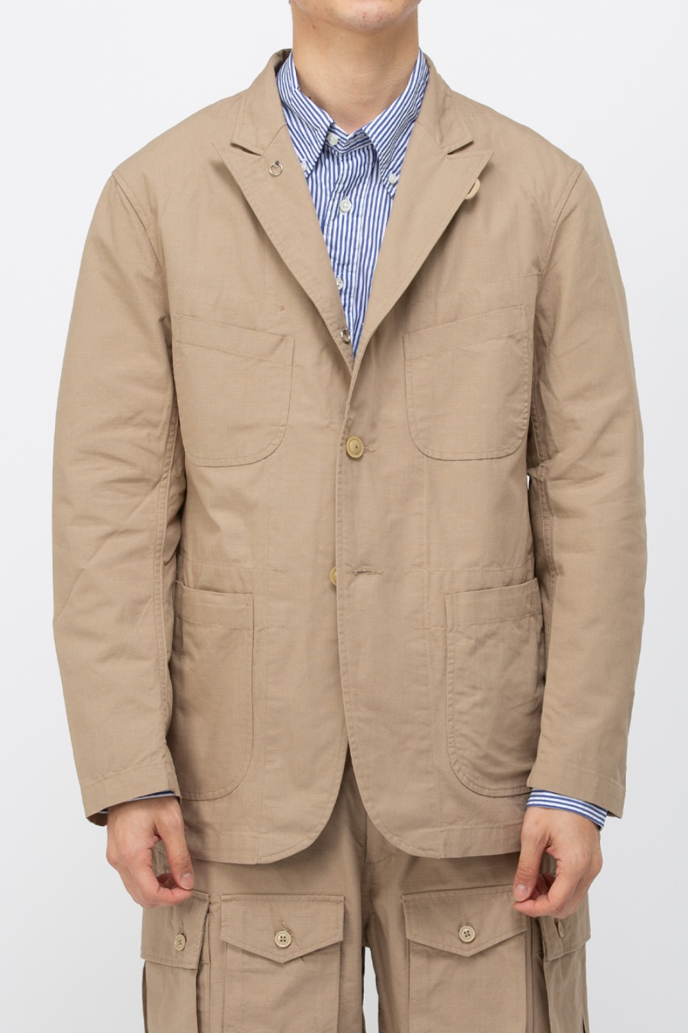BEDFORD JACKET COTTON RIPSTOP KHAKI