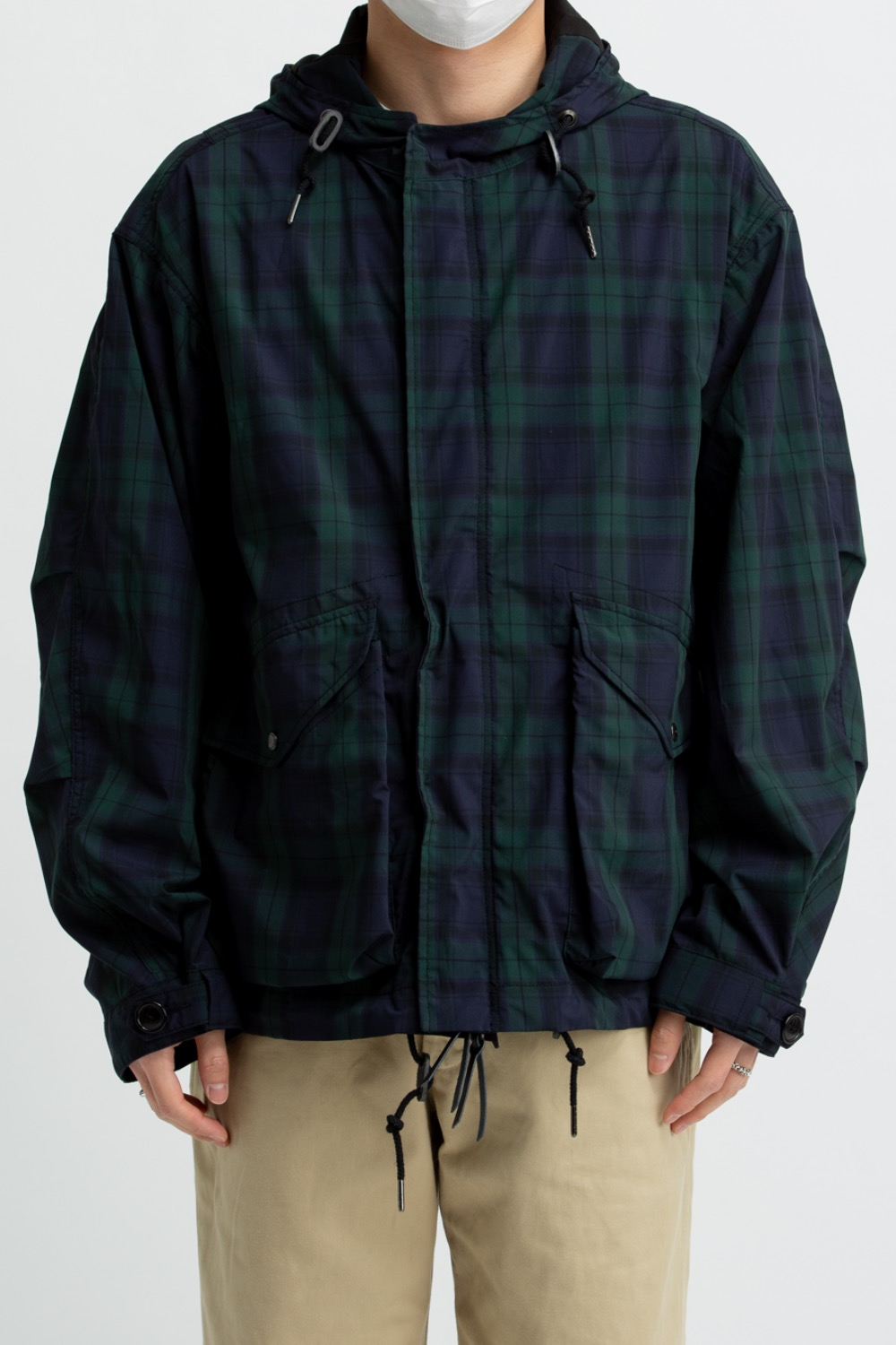 MOD SHORT PARKA BLACKWATCH