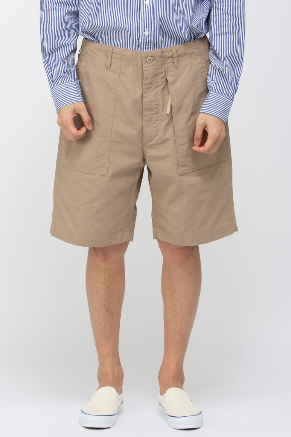 FATIGUE SHORT COTTON RIPSTIOP KHAKI