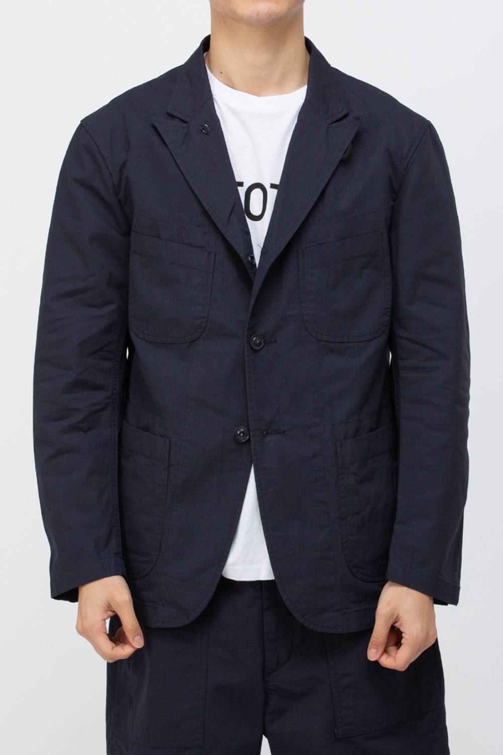 BEDFORD JACKET COTTON RIPSTOP DARK NAVY
