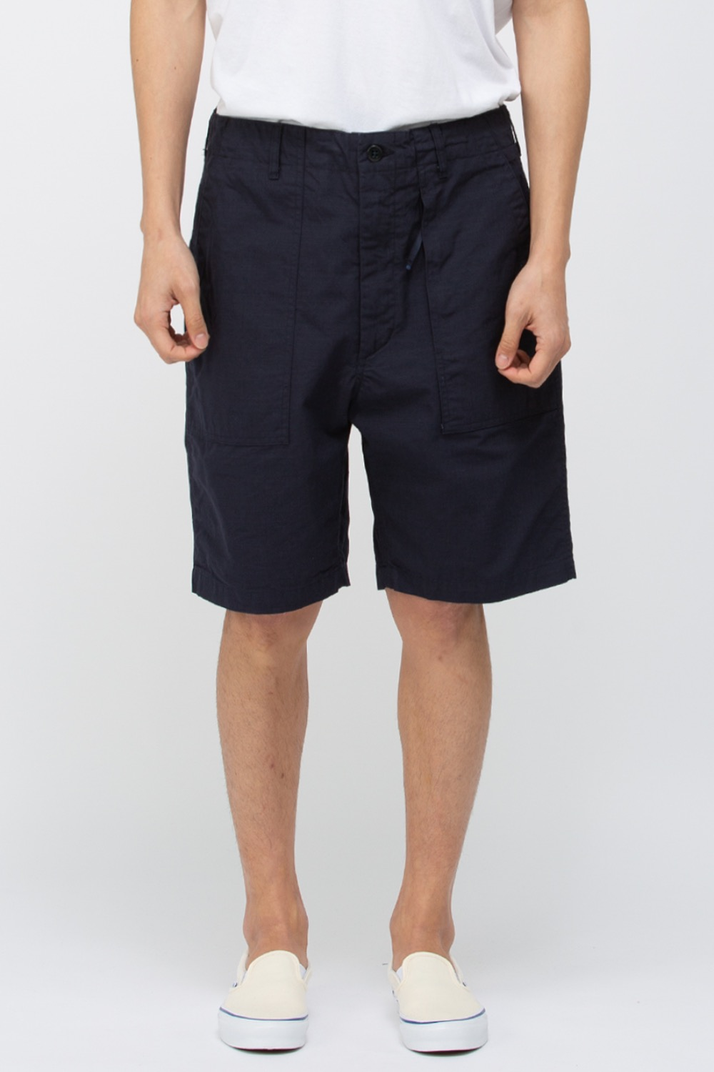 FATIGUE SHORT COTTON RIPSTIOP DARK NAVY