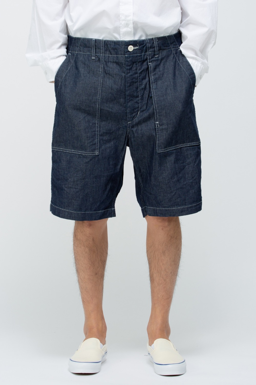 FATIGUE SHORT INDIGO 8oz CONE DENIM
