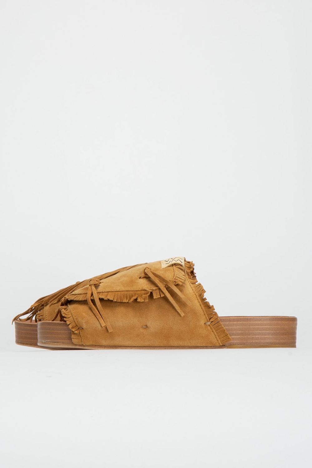 CHRISTO SHAMAN-FOLK LIGHT BROWN