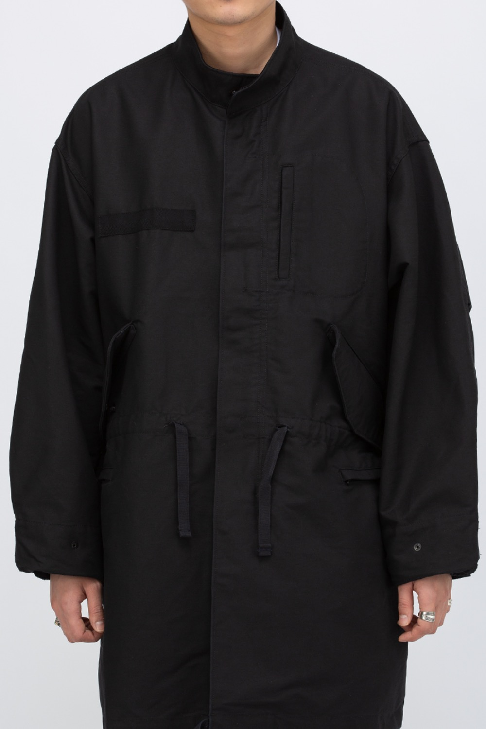(SCULP EXCLUSIVE)M65 FISHTAIL PARKA BLACK