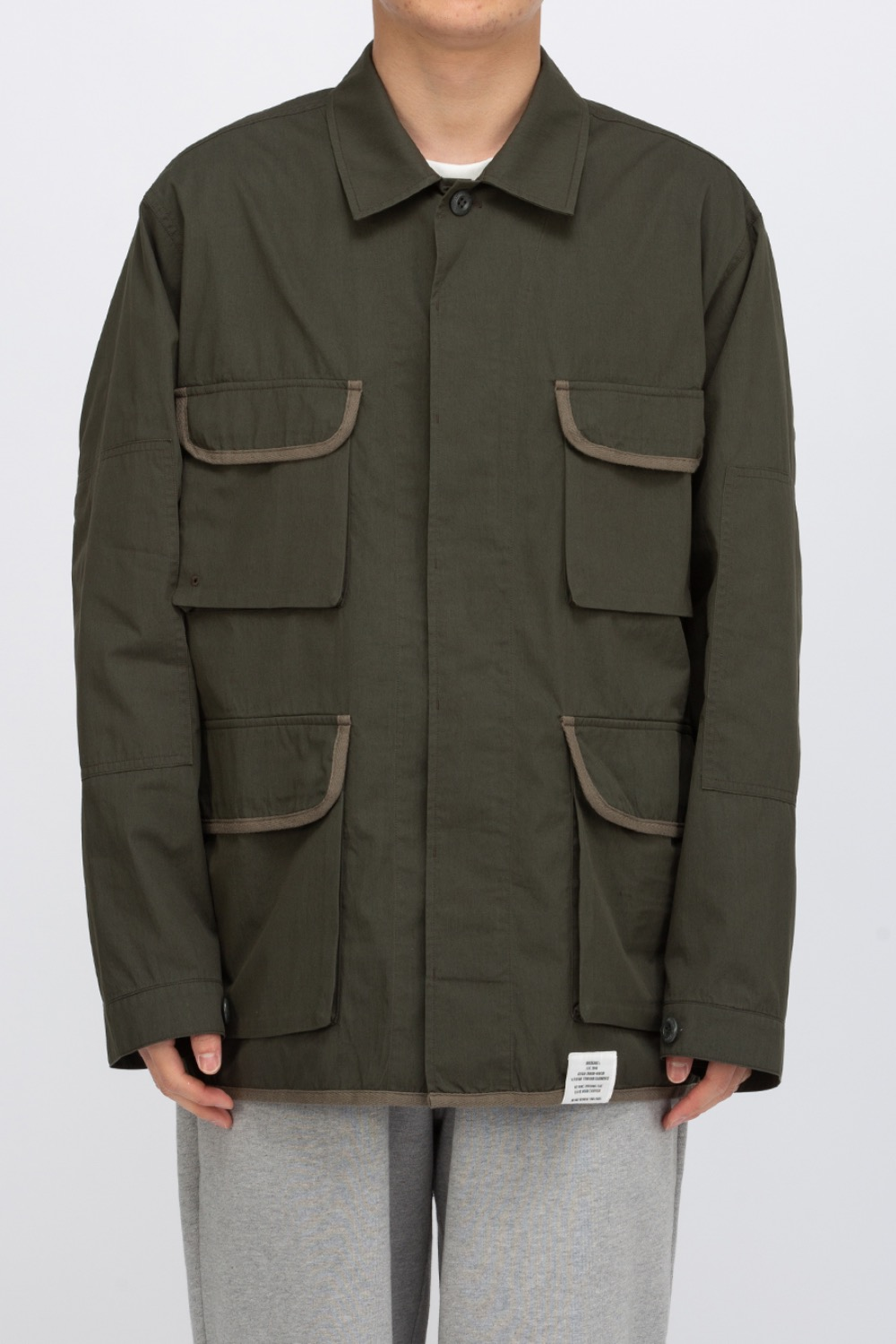 VALUE BDU JACKET GREEN