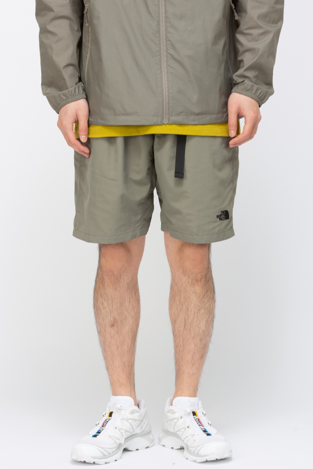 (NS6NM20) PROTECT DAILY SHORTS KHAKI GREY