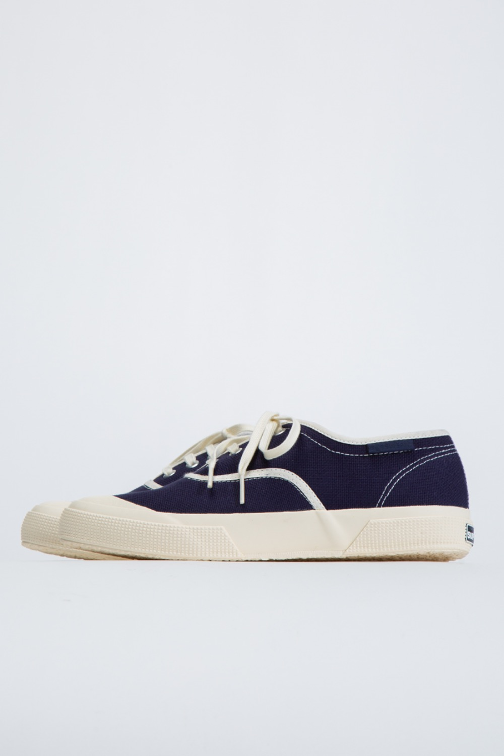 KAPTAIN SUNSHINE X SUPERGA TRAINER LOW NAVY