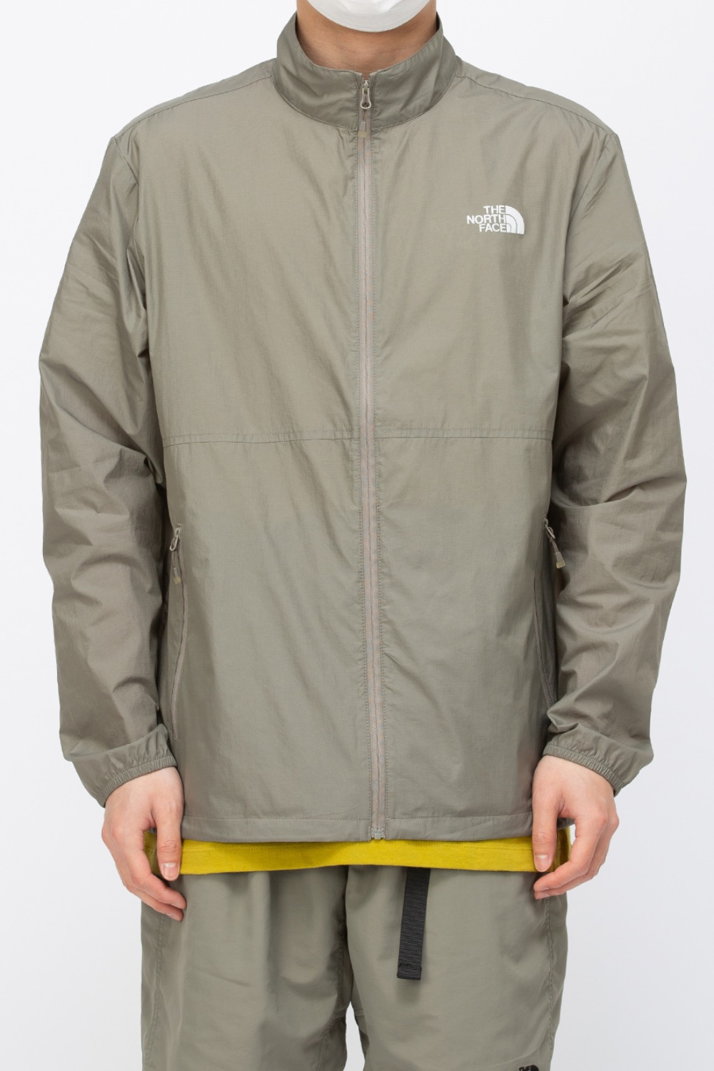 (NJ3LM04) M'S FLYHIGH JACKET KHAKI GREY