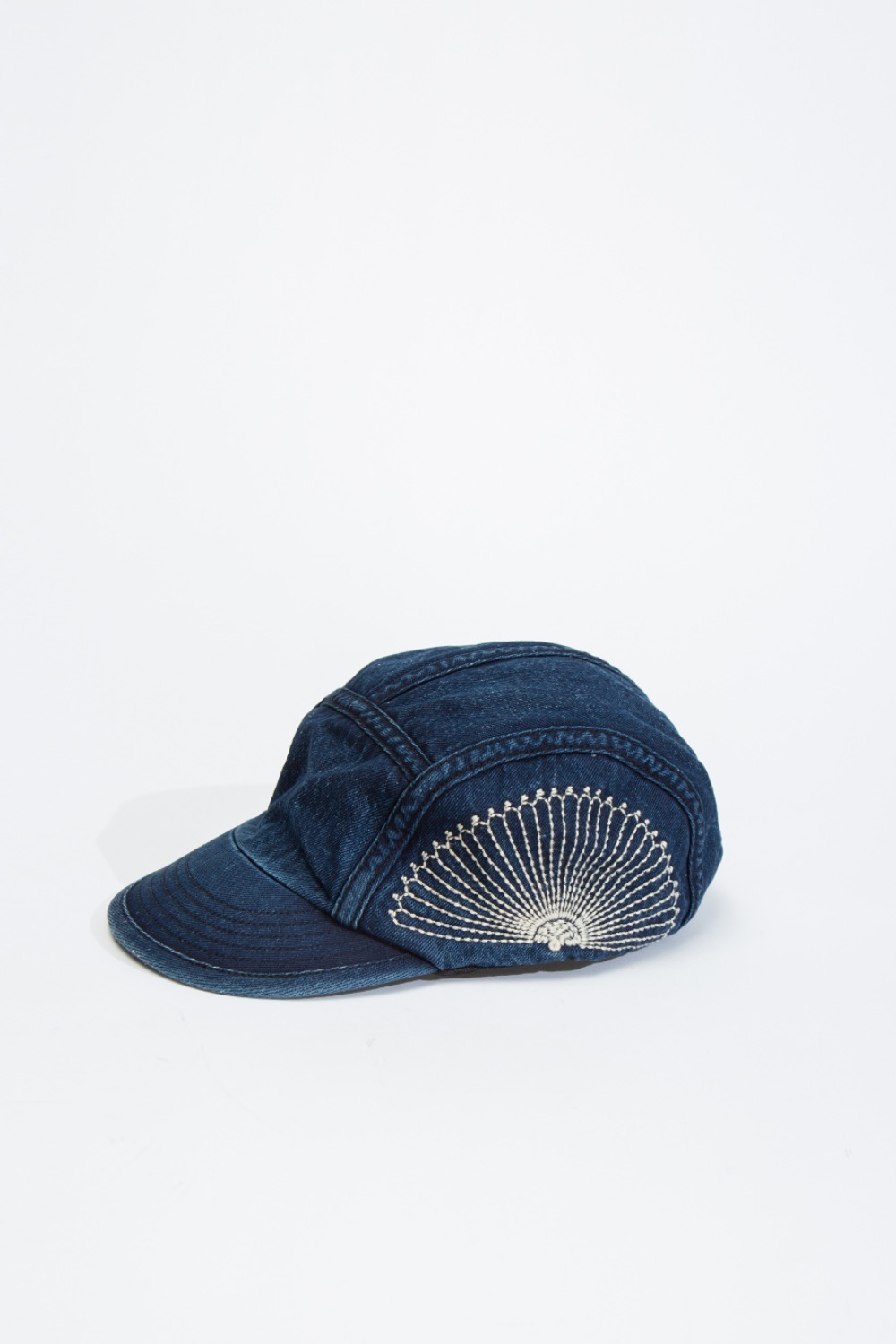 10oz IDG X IDG DENIM CAMP CAP(FUROSHIKI EMBROIDERED)
