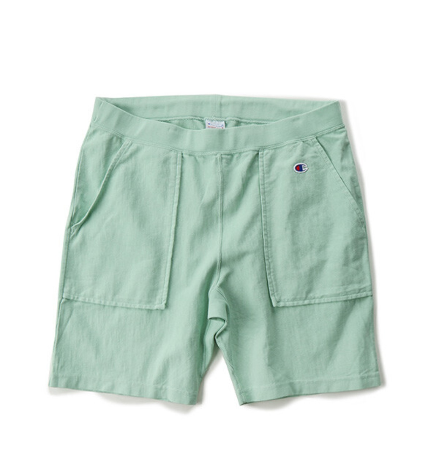 REVERSE WEAVE 9.4OZ SHORT PANT LIME