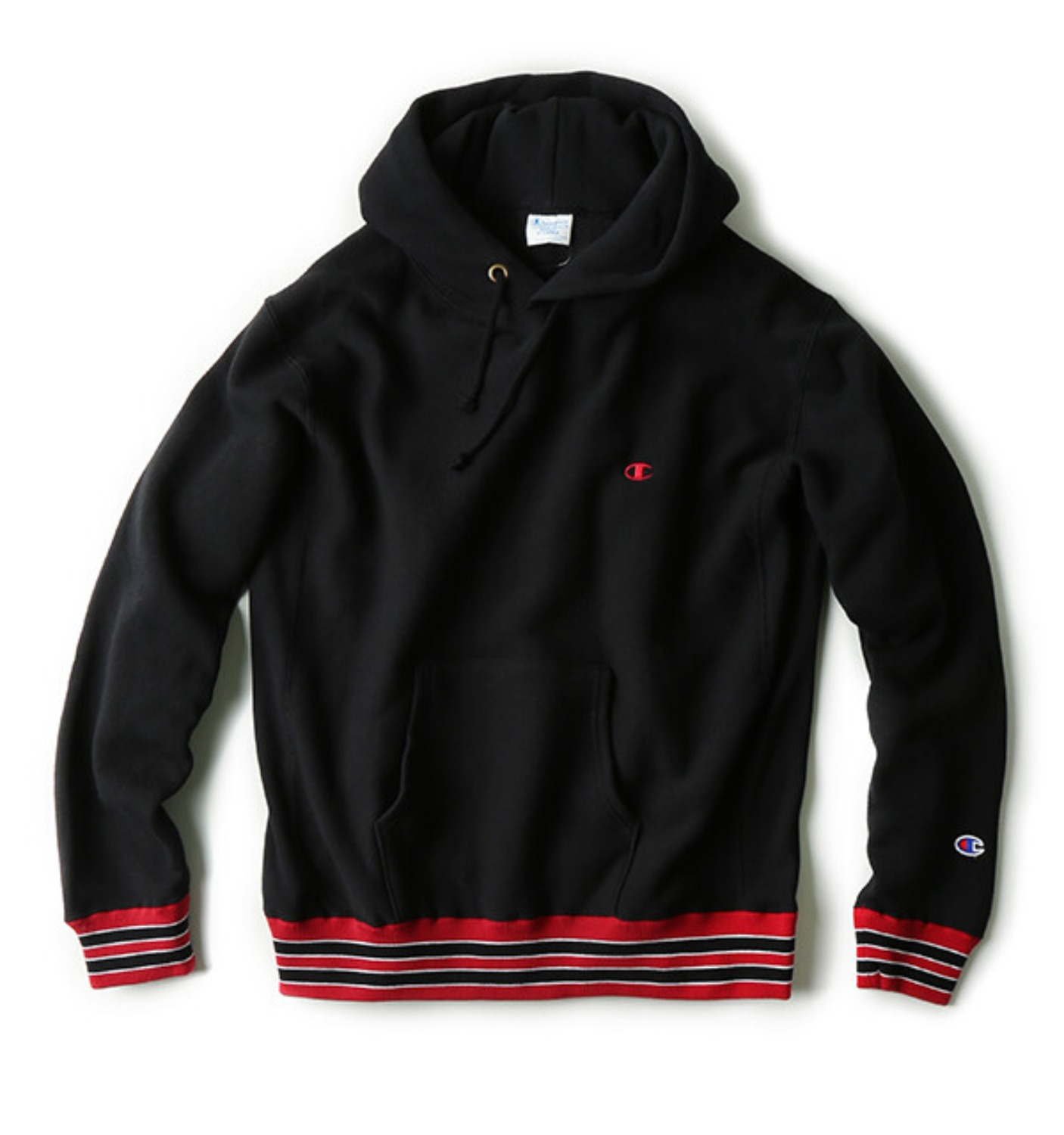 Reverse Weave Pullover Sweat(11.5oz) BLACK