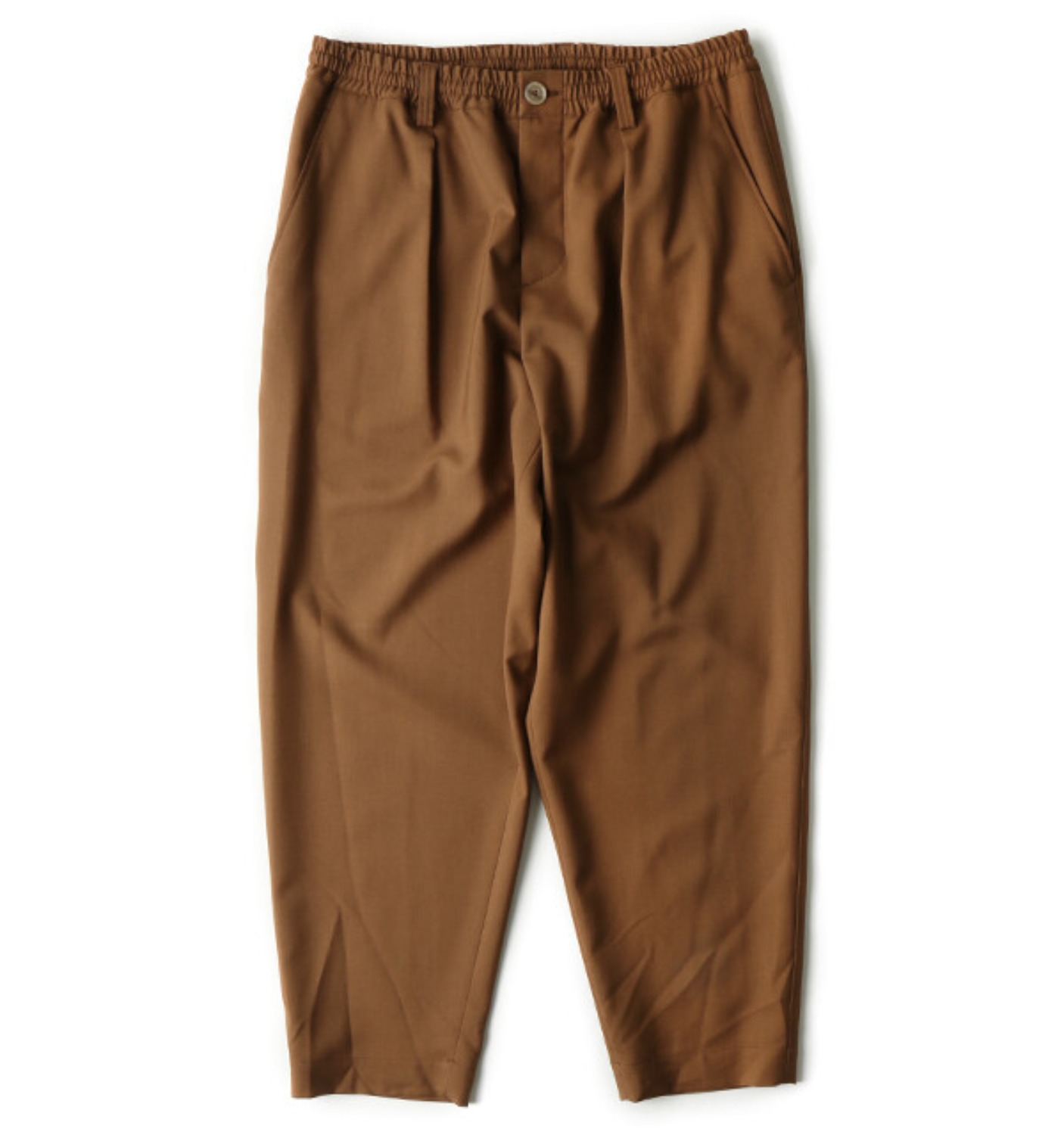 Tropical Wool Pants BROWN