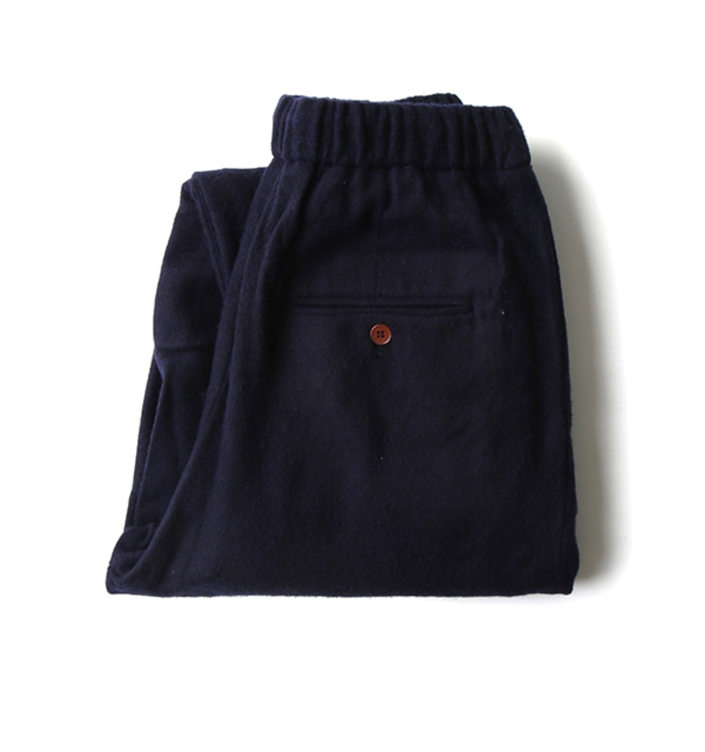 stretched wool comfy pants NAVY (NPA02008A)