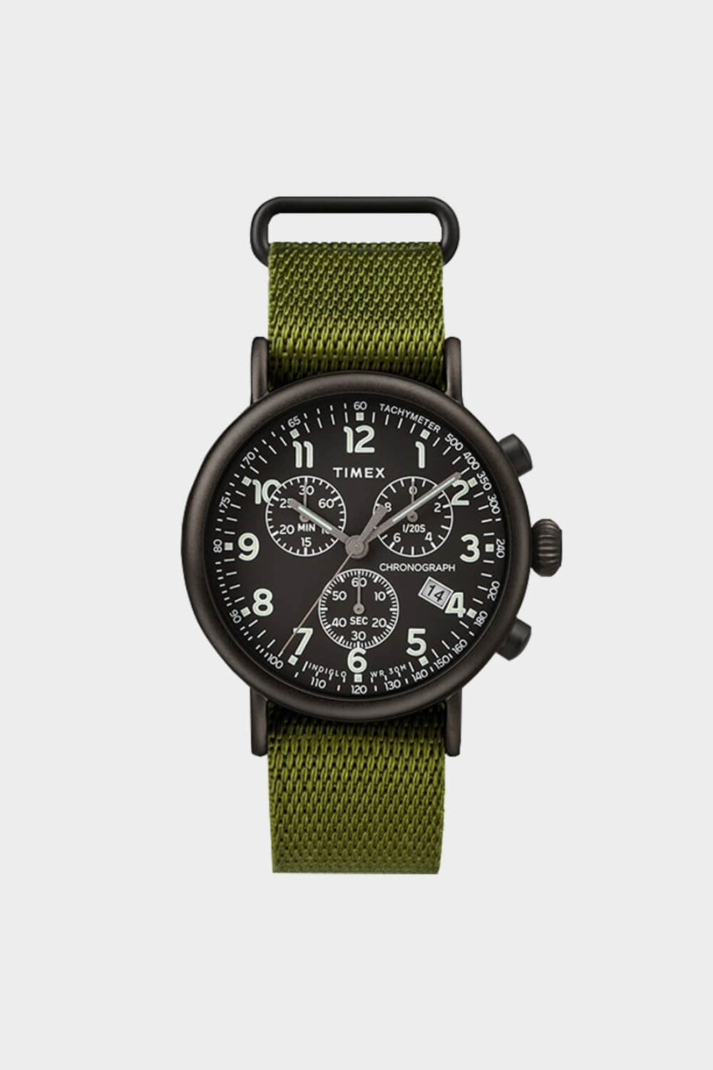 STANDARD CHRONOGRAPH 41MM FABRIC STRAP WATCH(TMTW2T21400)