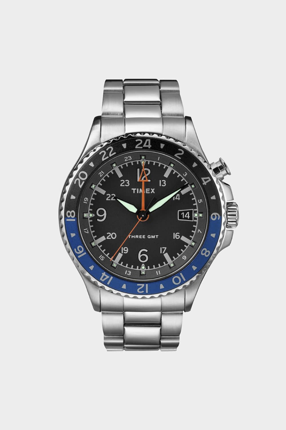 ALLIED THREE GMT 43MM BRACELET WATCH(TMTW2R43500)