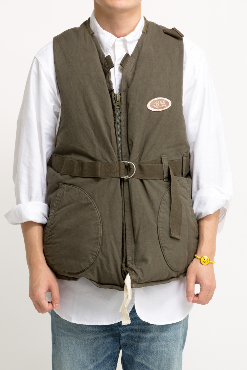 HARRIER DOWN VEST OLIVE