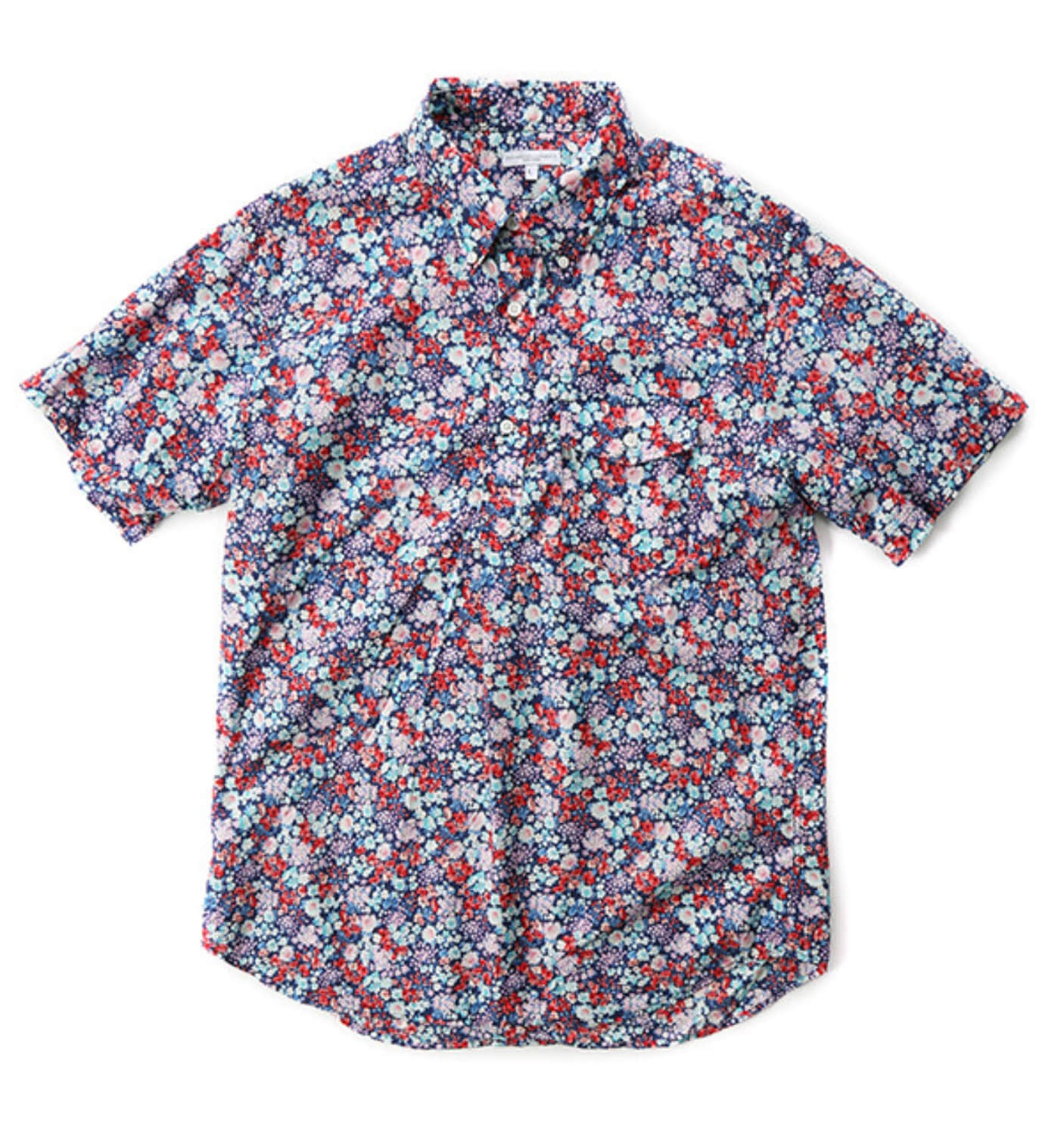 POPOVER BD SHIRT NAVY/RED/LT.BLUE FLORAL