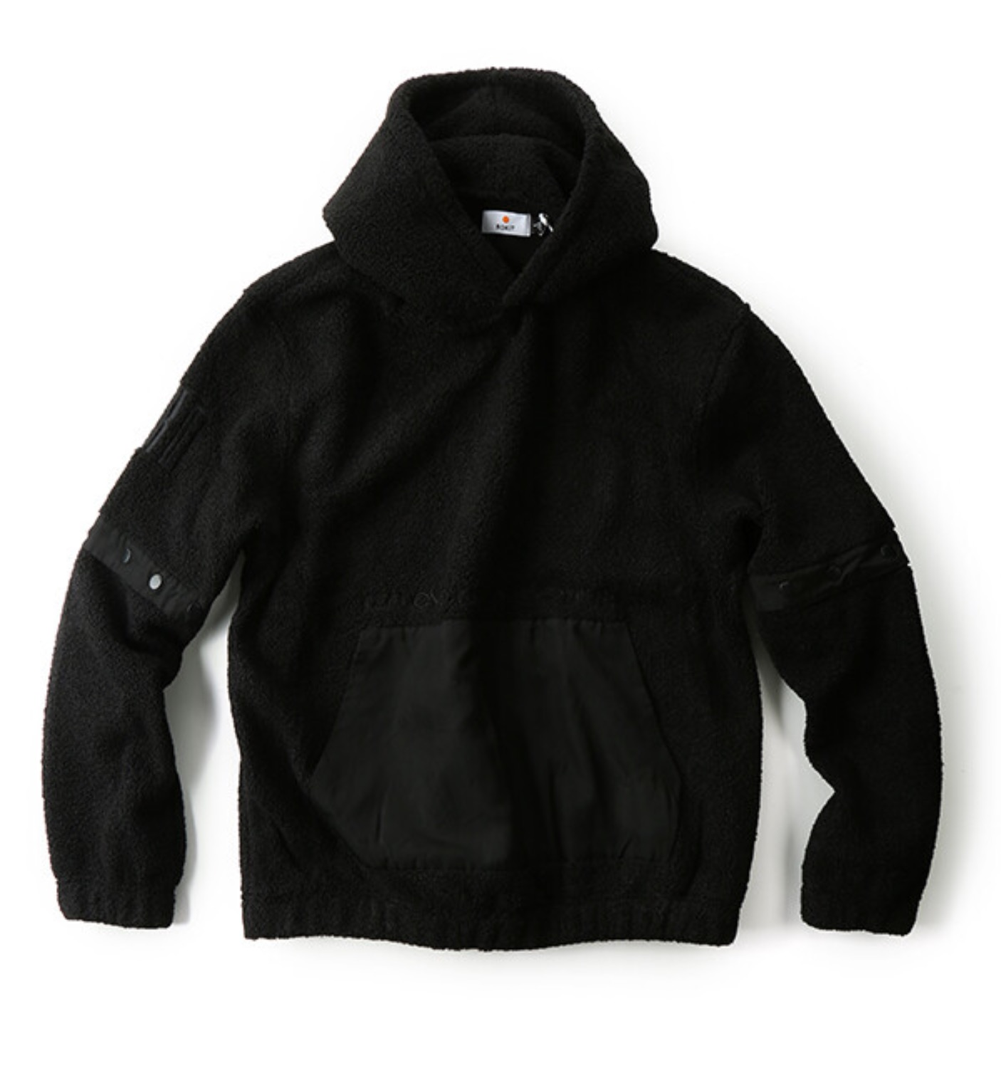 THE MALCOLM HOODIE BLACK(381-8501)