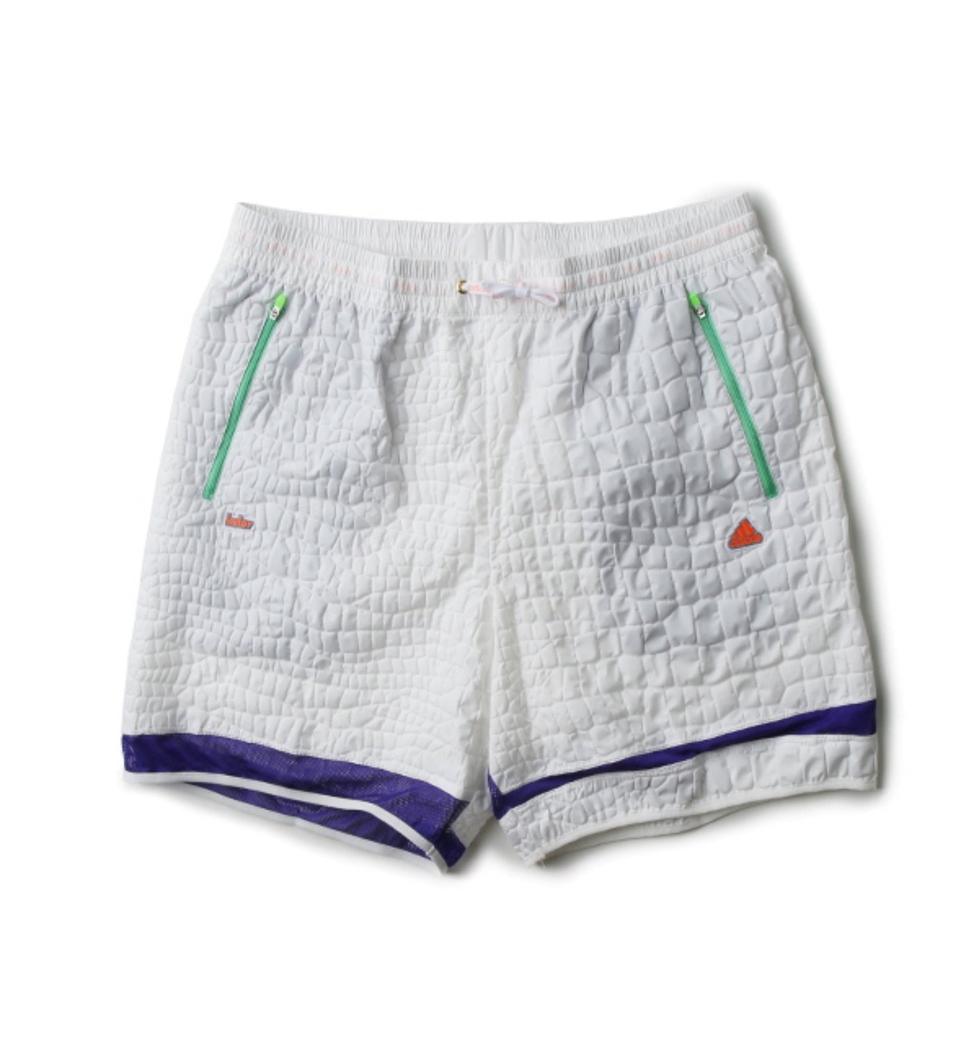 EMBOSS SHORTS WHITE(CD4065)