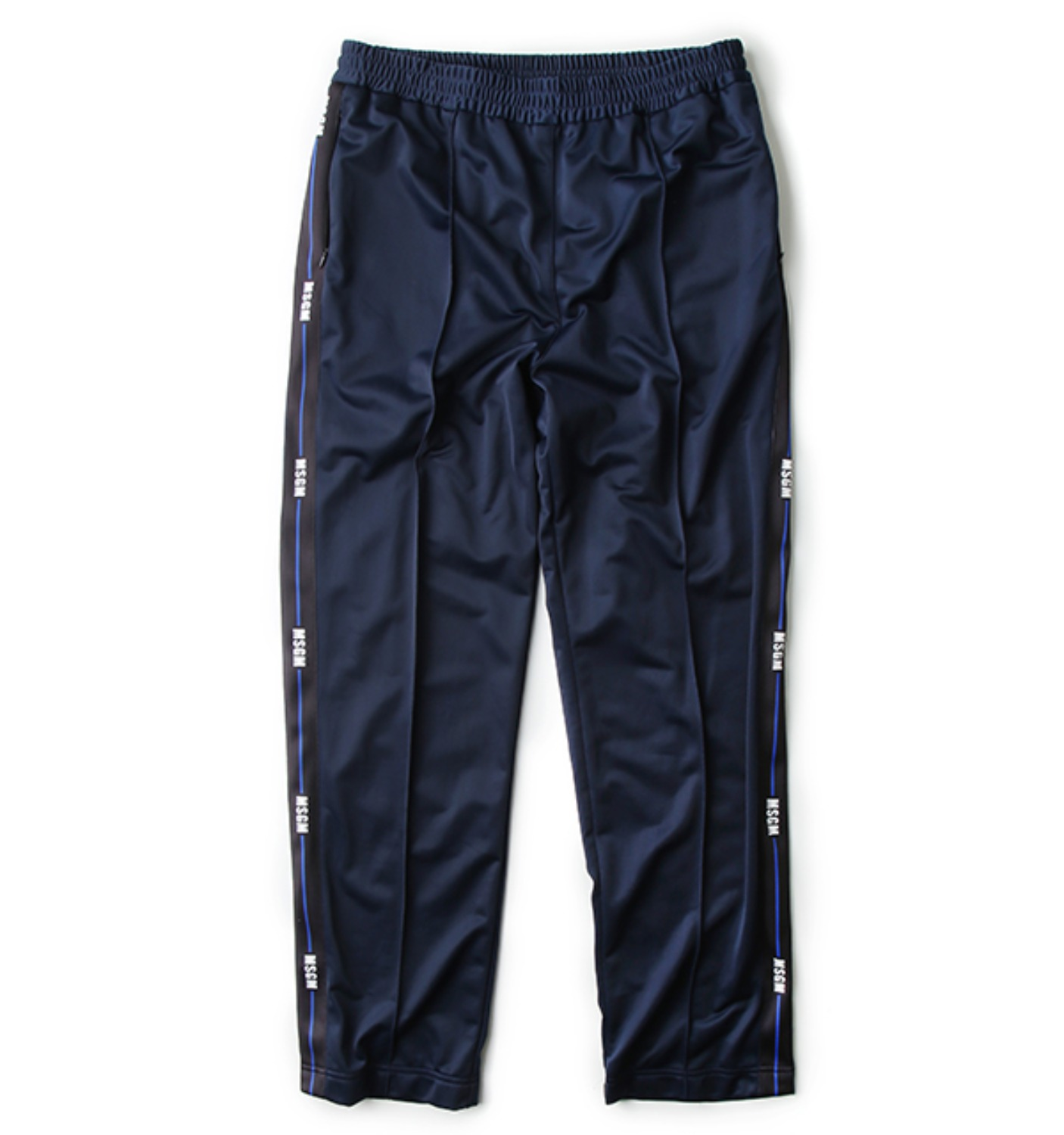 MSGM SIDE TAPE PANTS NAVY(2340MP13Y)