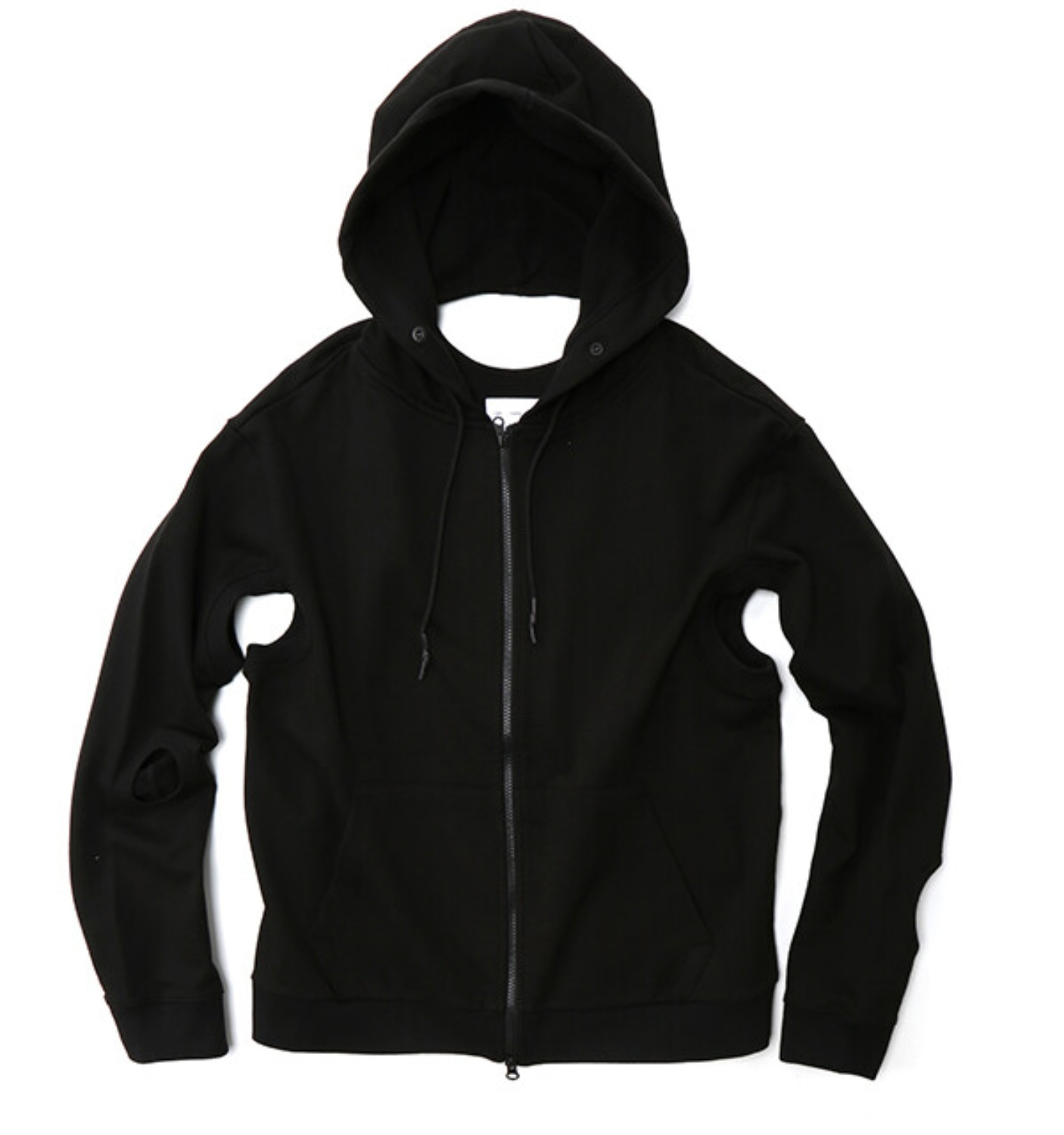 2.0 HOODIE RIGHT BLACK