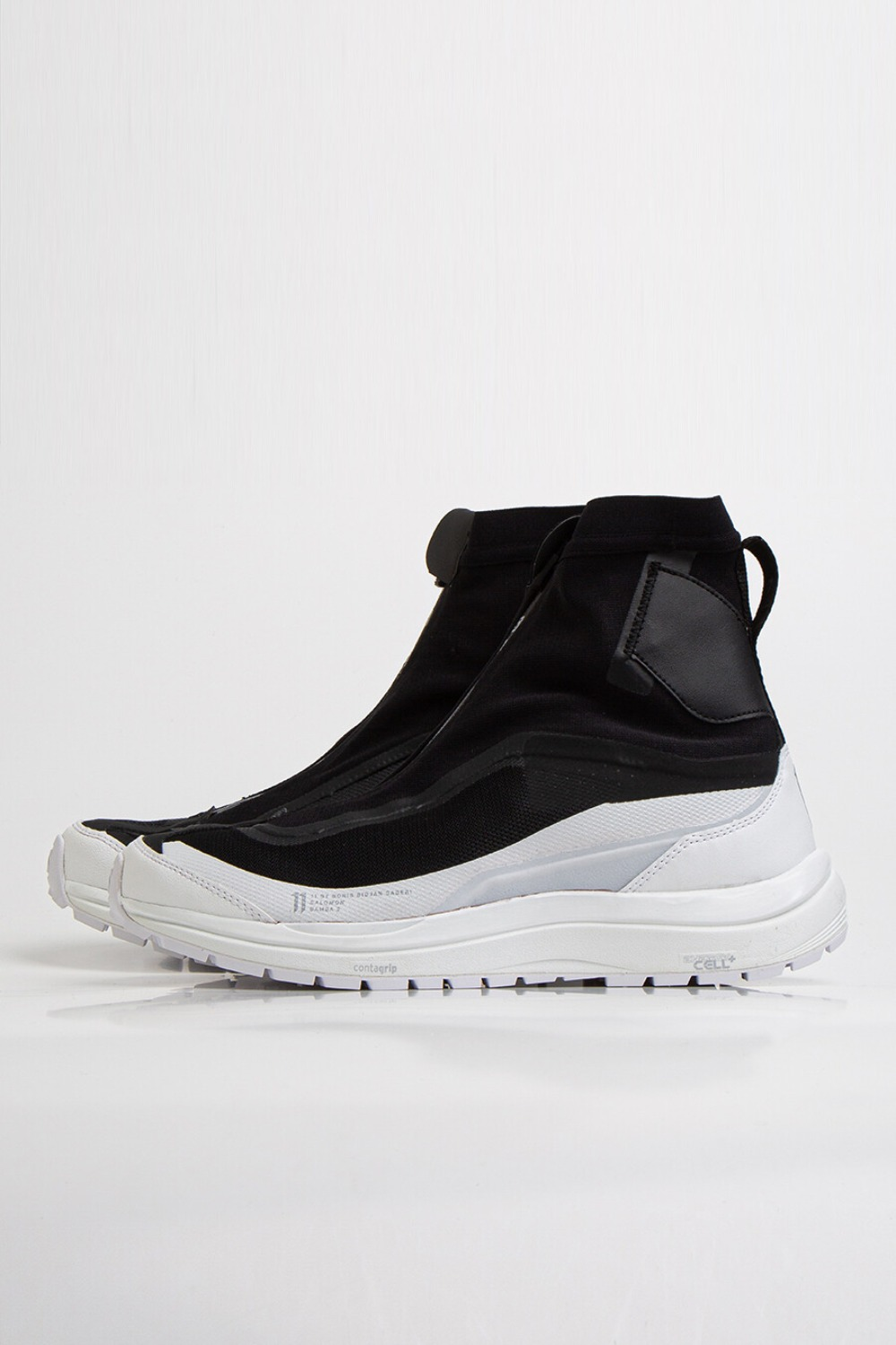 BAMBA2 HIGH SNEAKERS BLACK/WHITE