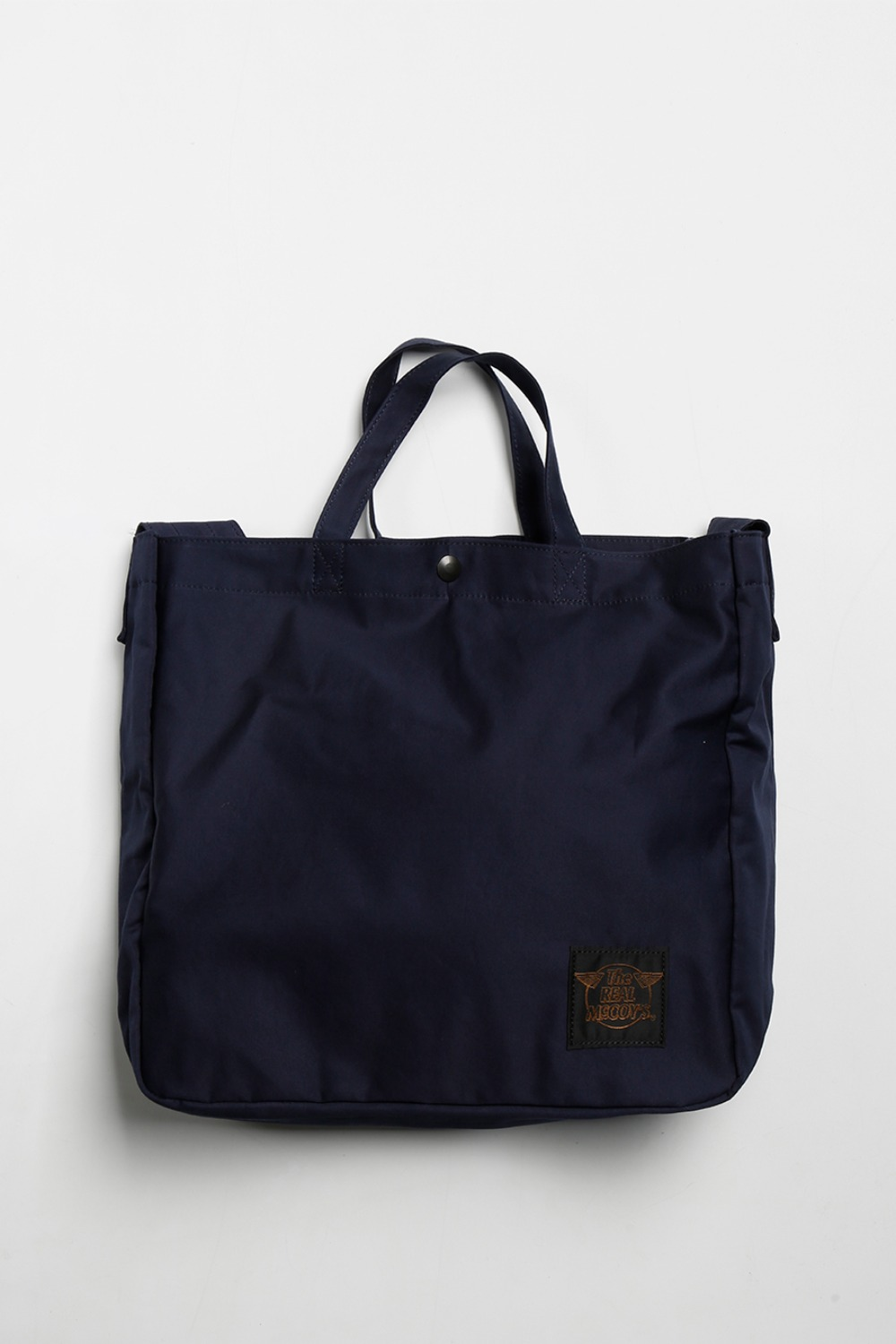 REAL MCCOY'S ECO SHOULDER BAG NAVY