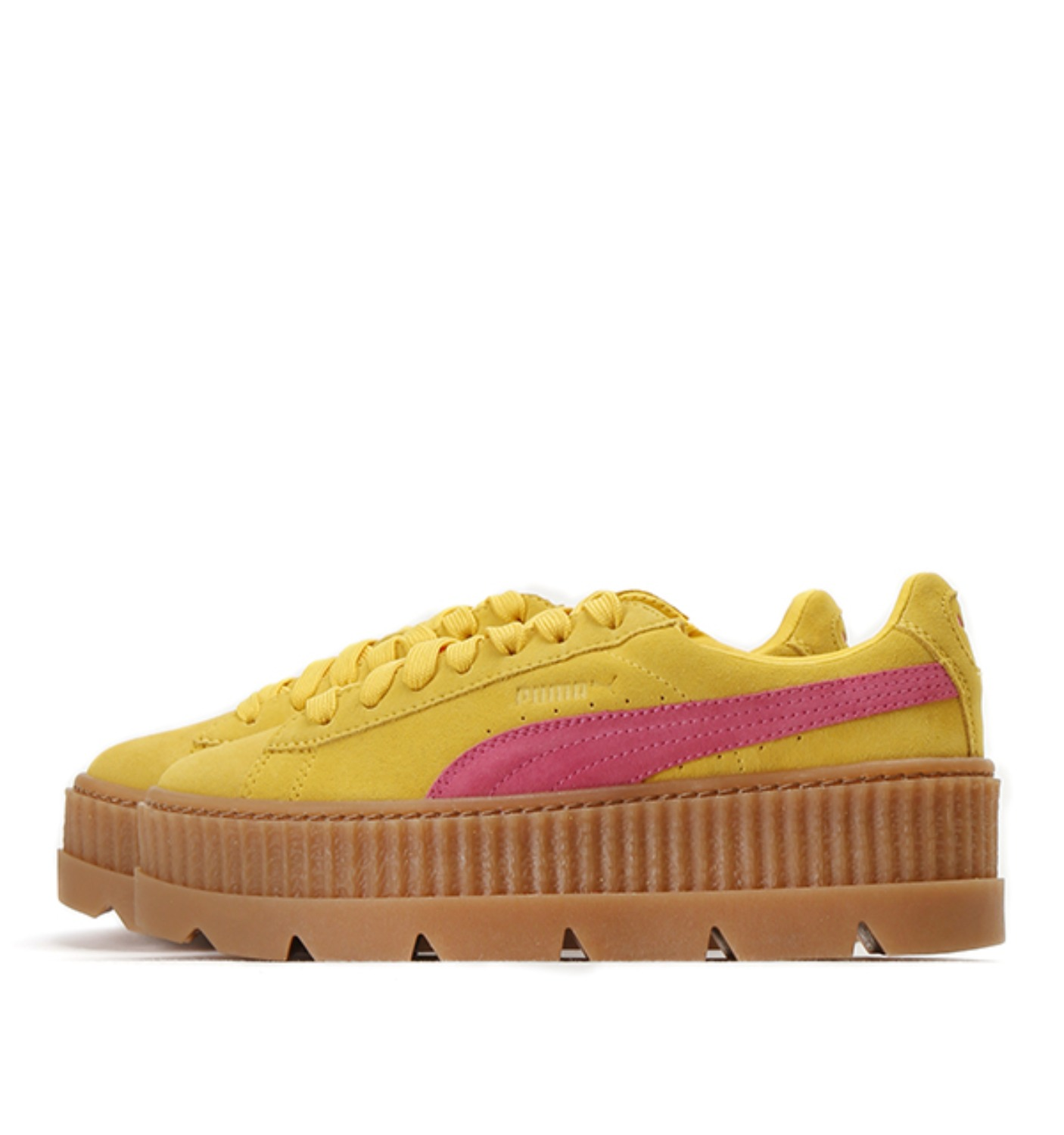CLEATED CREEPER SUEDE LEMON (366268/03)