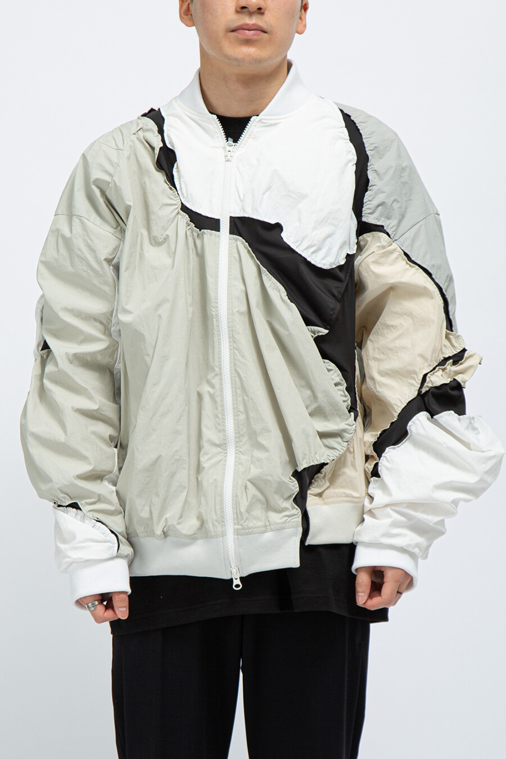 3.0 JACKET LEFT WHITE/GREY