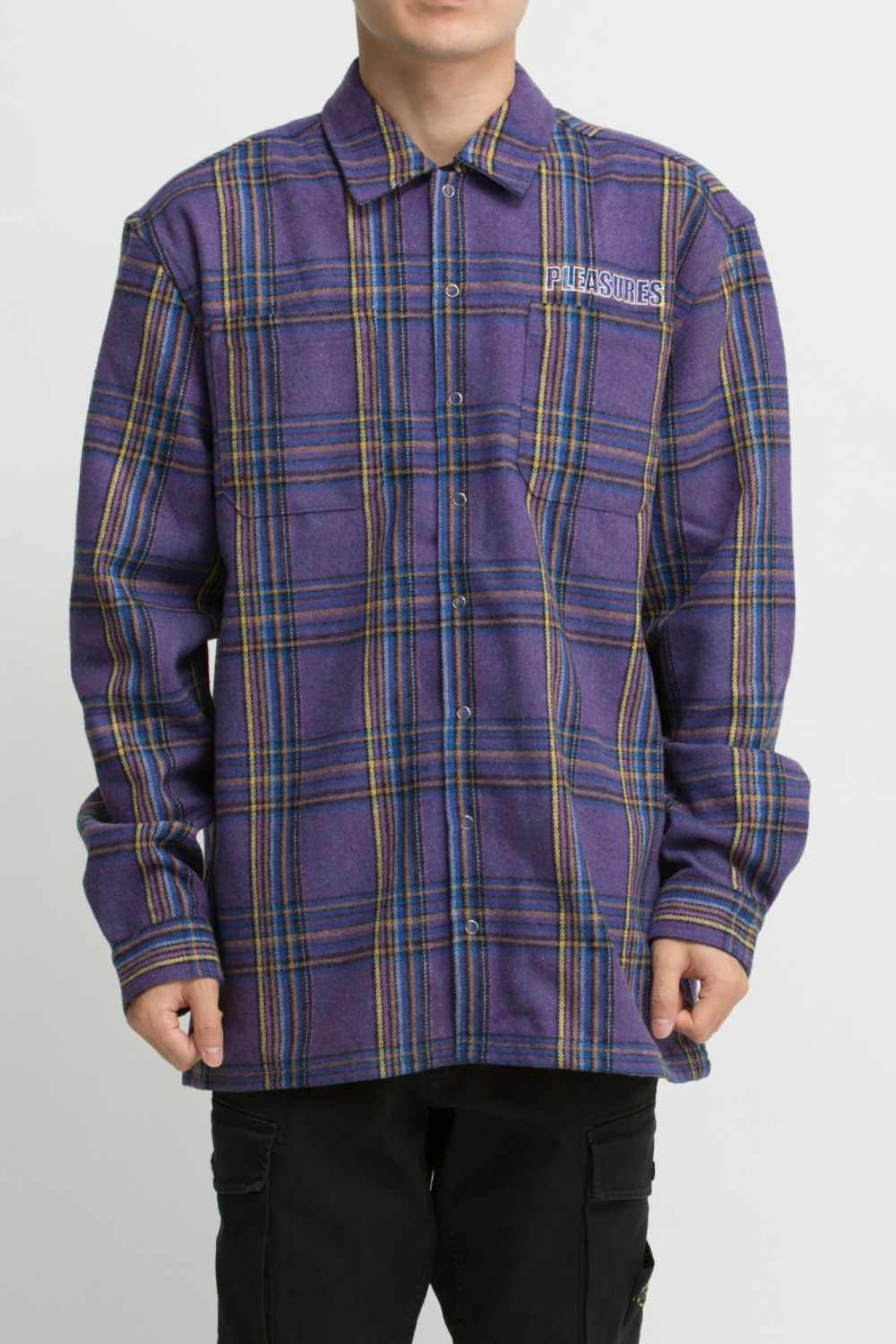 WIDOW HEAVYWEIGHT FLANNEL PURPLE