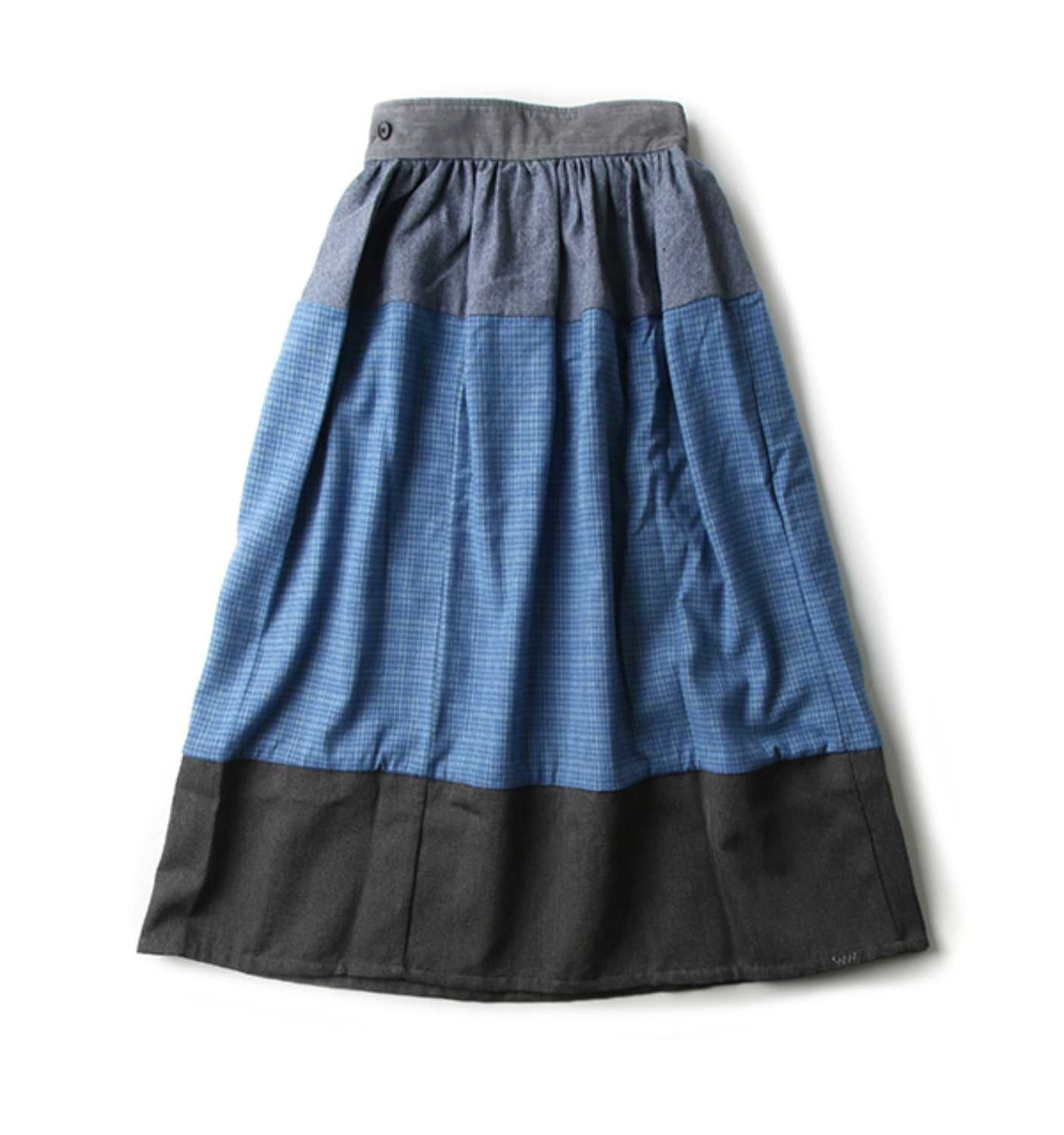 ELEVATION LONG SKIRT BLUE