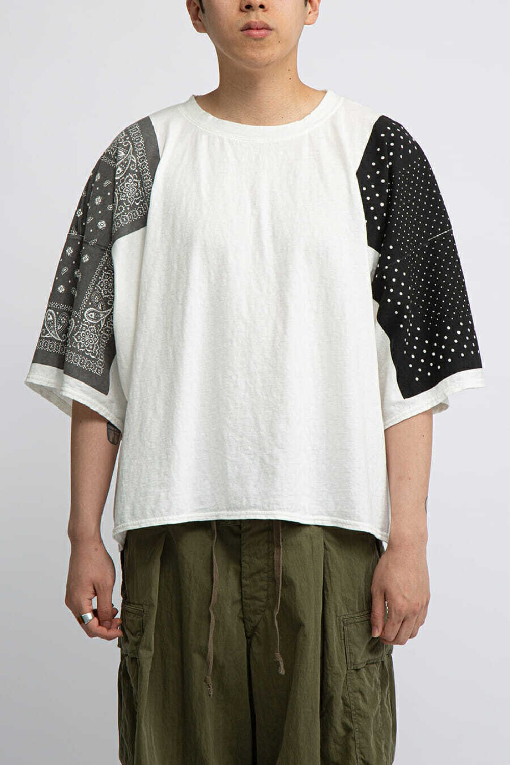 JERSEY BANDANA HUGE T(EK-616) BLACK