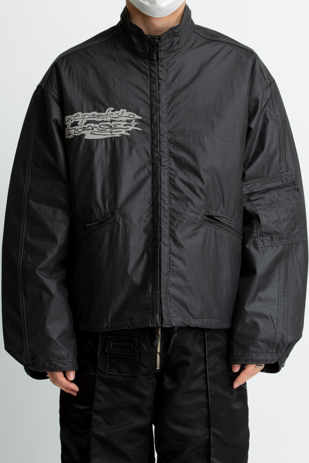 400 CHANGE REVERSIBLE JACKET BLACK/GREEN