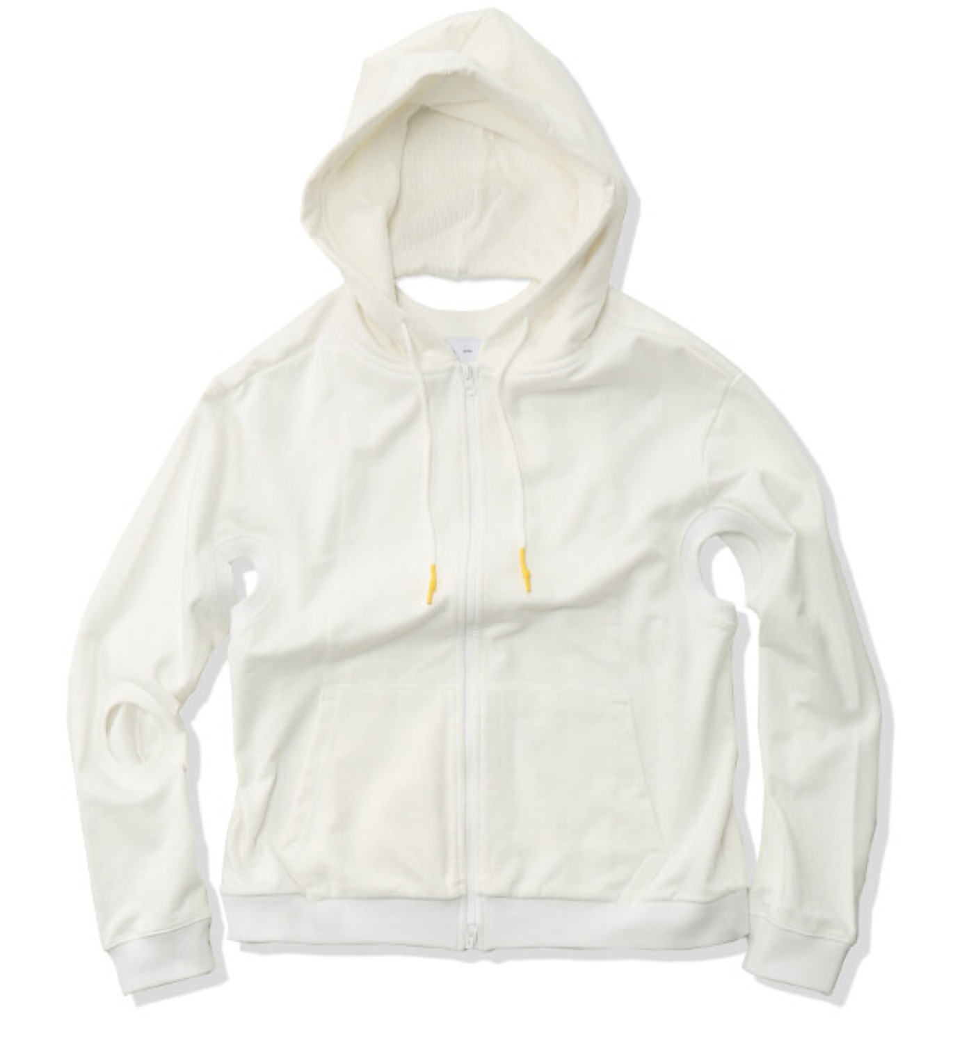 2.0 HOODIE RIGHT WHITE