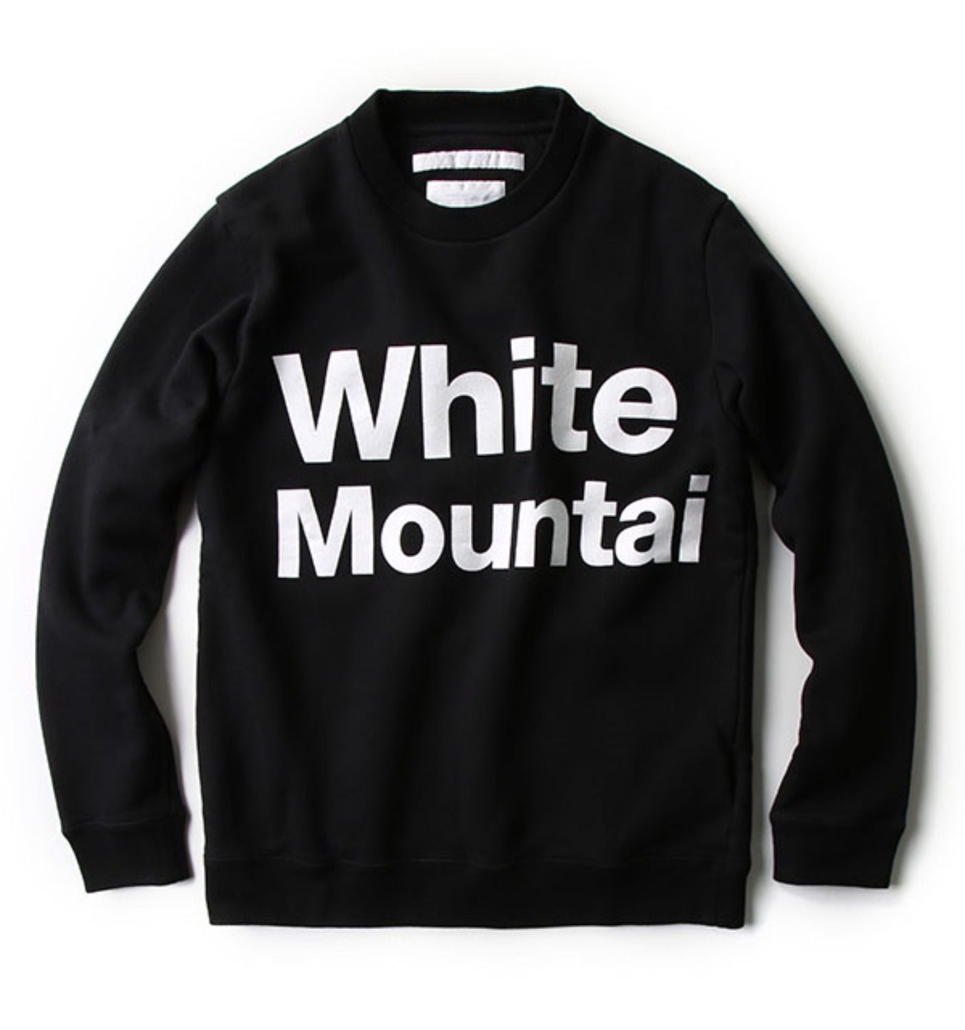 PRINTED LOGO SWEATSHIRT BLACK (WM1673528)