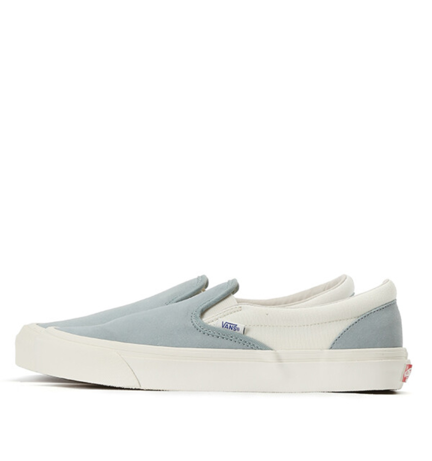 OG CLASSIC SLIP-ON LX(SUEDE/CANVAS) SLATE/MARSHMALLOW