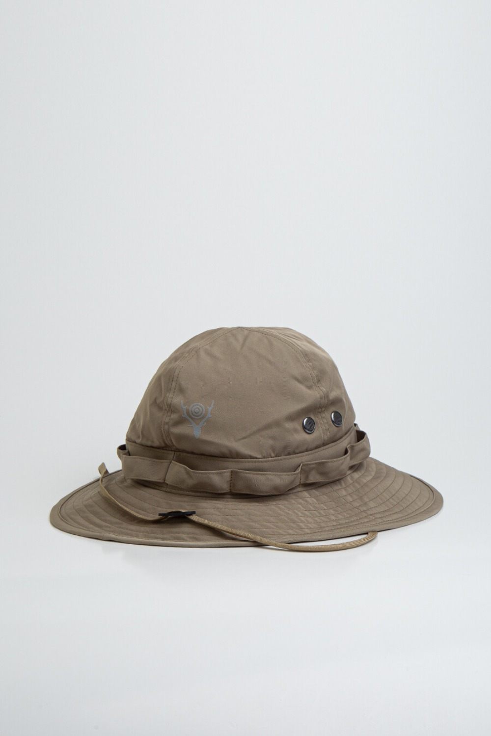 JUNGLE HAT-POLY GABARDINE KHAKI
