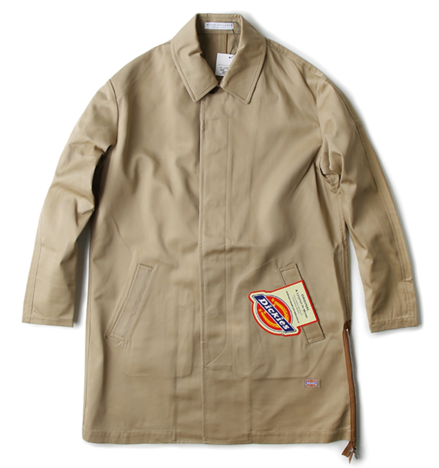 Side Zip-up Soutien Dickies Coat BEIGE(MG-DIC01)