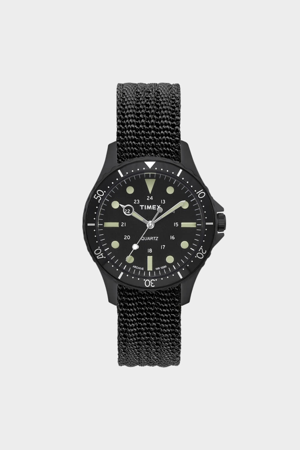 TIMEX ARCHIVE NAVI 38MM BLACK (TMTW2T12100)