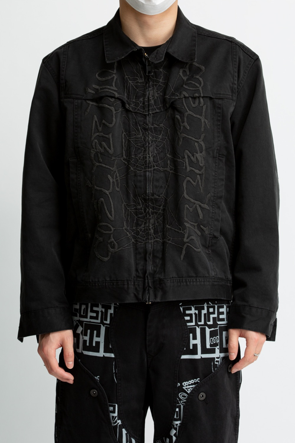 400 TRUCKER JACKET BLACK
