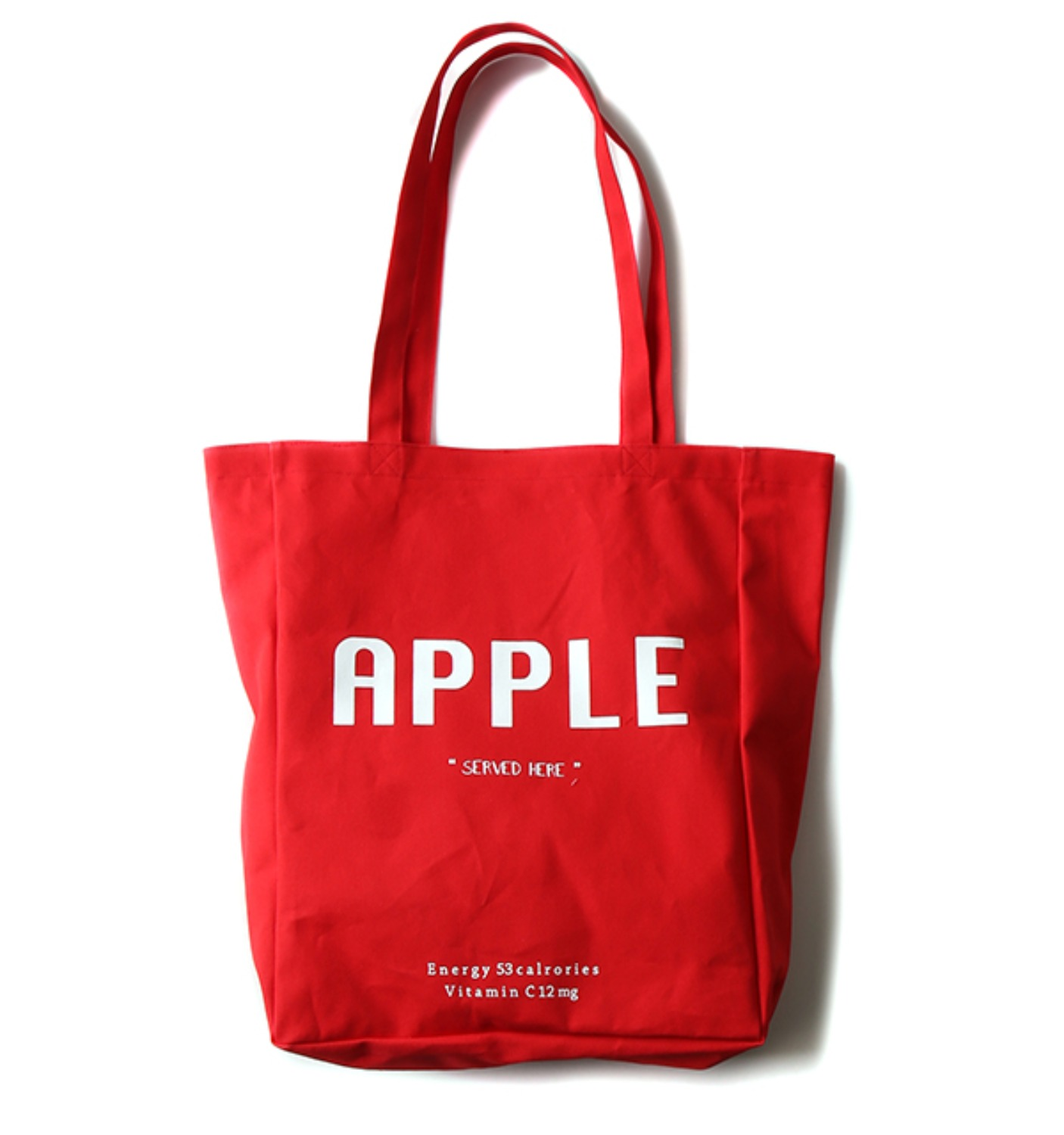 HANYOUNGHUUN X MUSED APPLE BAG RED