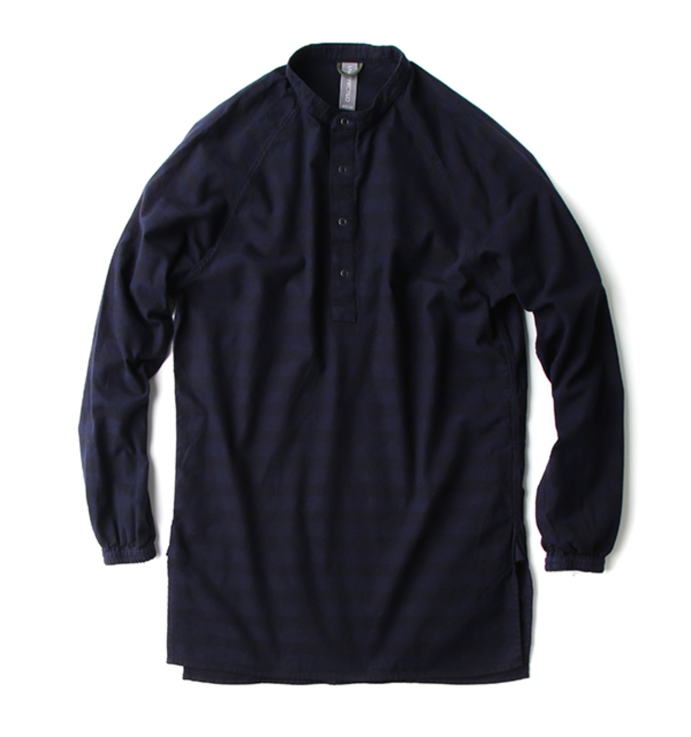 RAGLAN LONG SHIRT NAVY STRIPE(UN-AW17SH04)