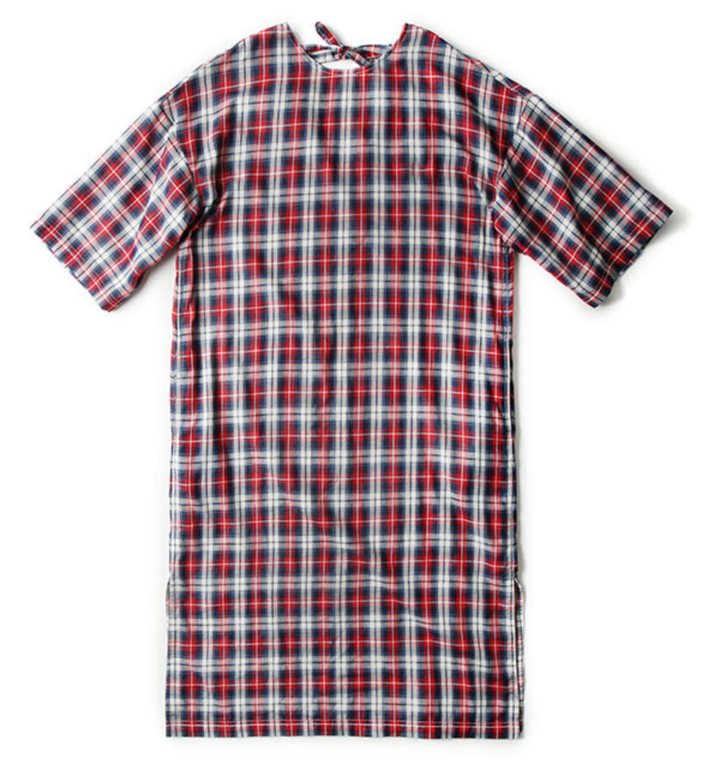 REVERSIBLE CASUAL DRESS JAPANESE CHECK